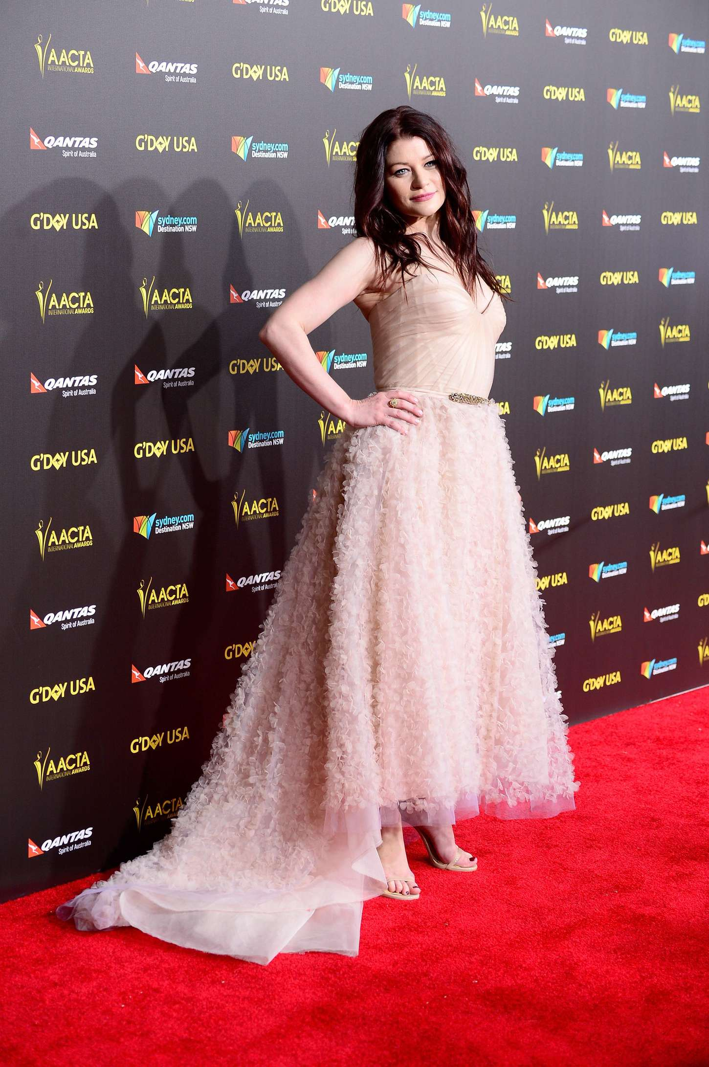 Emilie de Ravin GDay USA GALA featuring the AACTA International Awards presented by QANTAS in Los Angeles