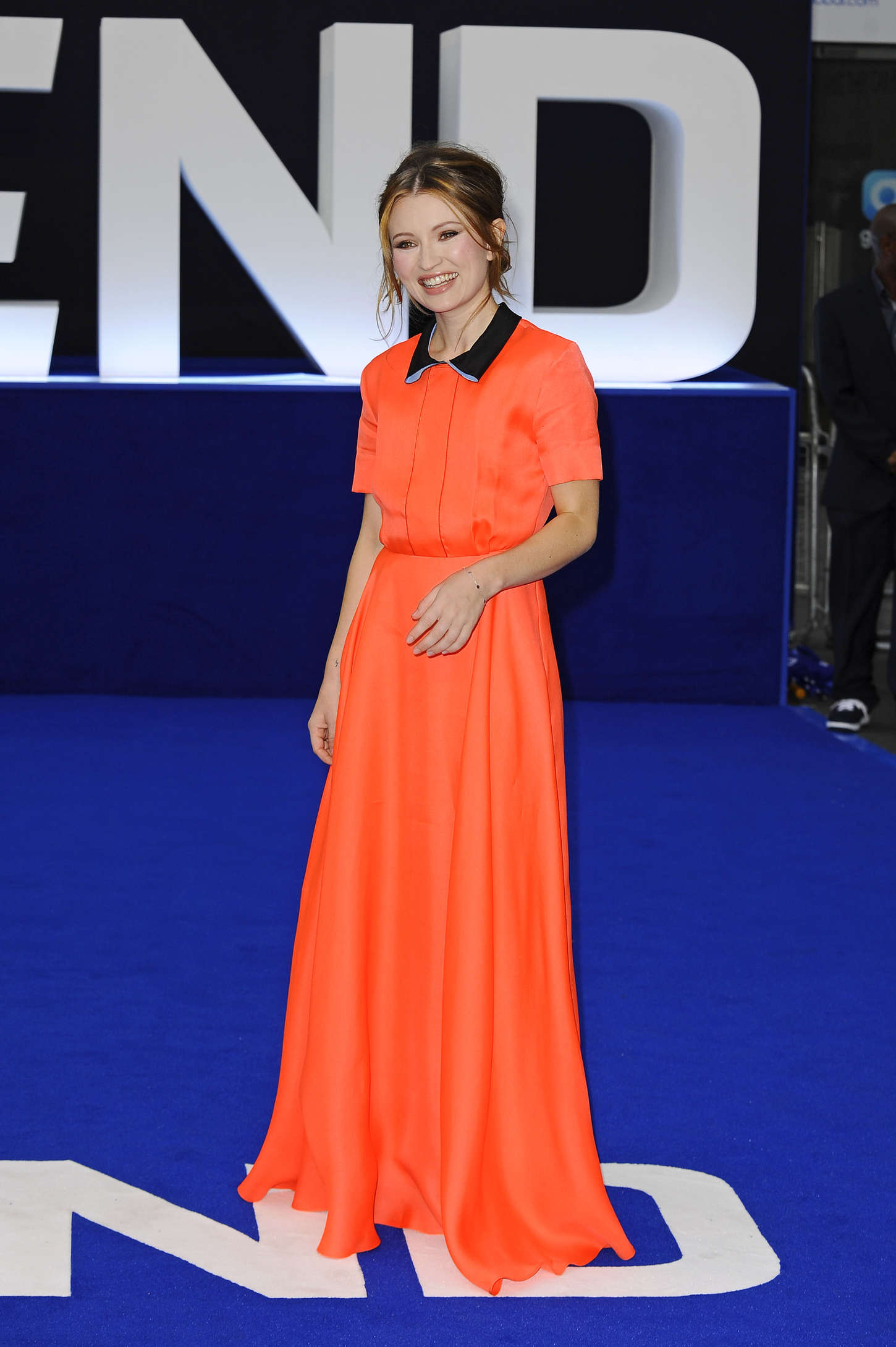 Emily Browning Legend Premiere in London