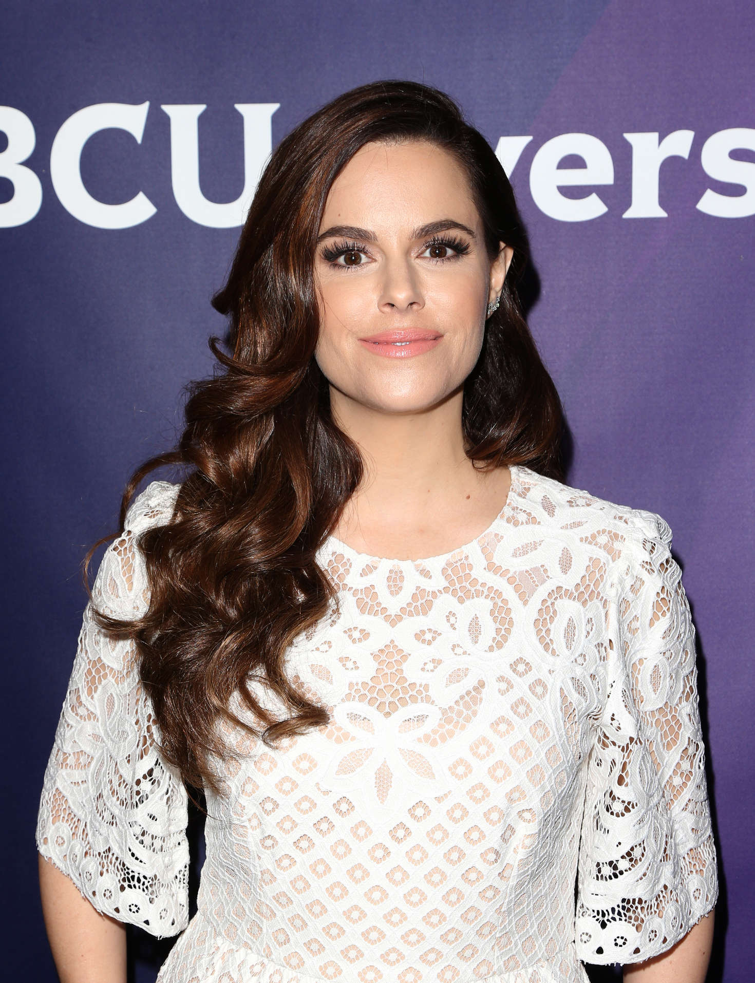Emily Hampshire NBCUniversal Summer Press Day in Westlake Village