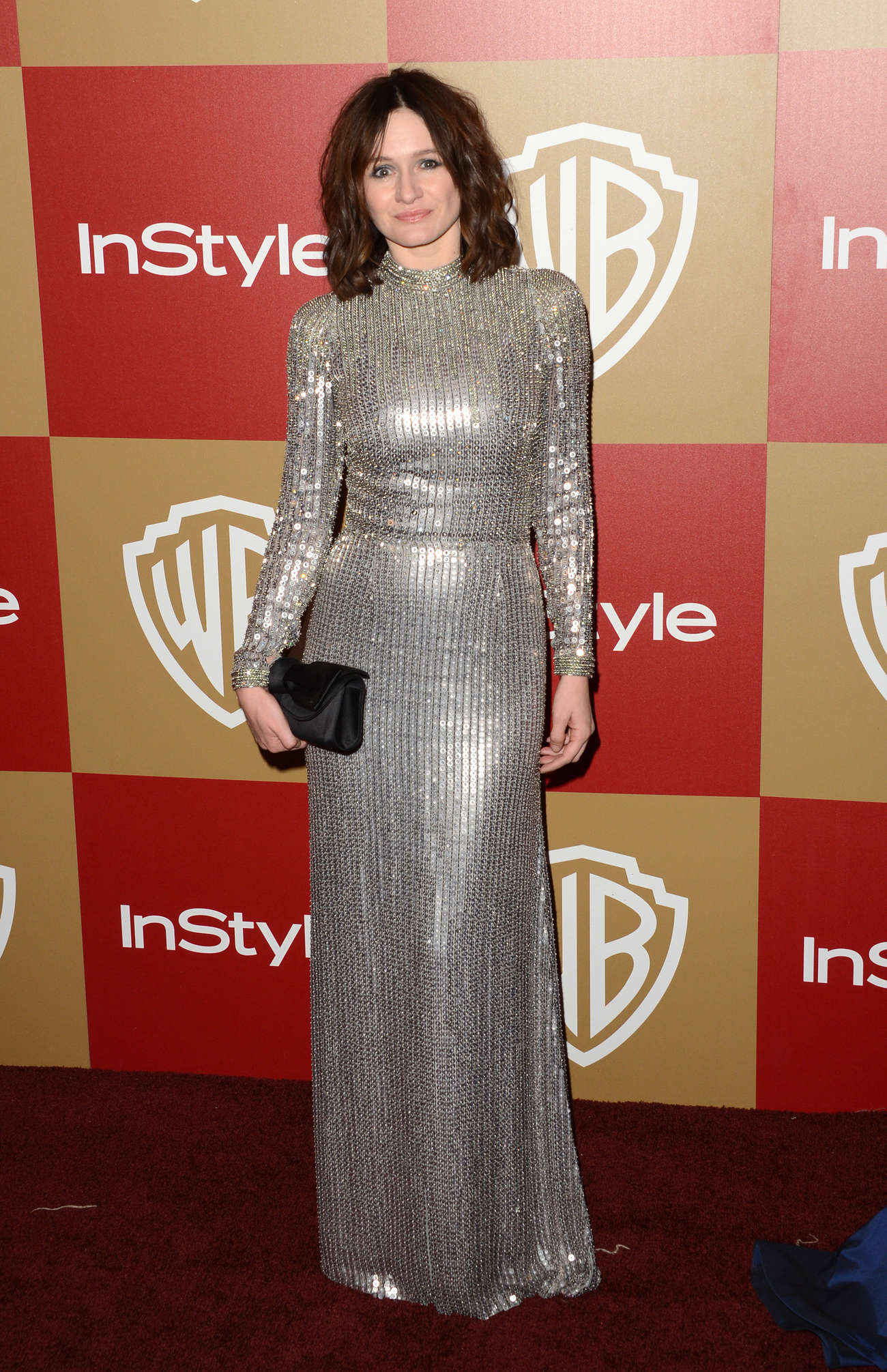 Emily Mortimer Warner Bros InStyle Golden Globes Party in Beverly Hills