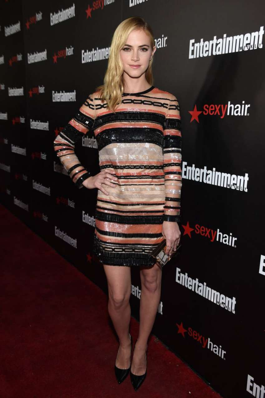 Emily Wickersham Entertainment Weeklys SAG Awards Nominees in Los Angeles