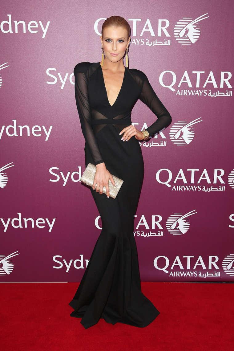 Erin Holland Qatar Airways Sydney Gala Dinner in Sydney