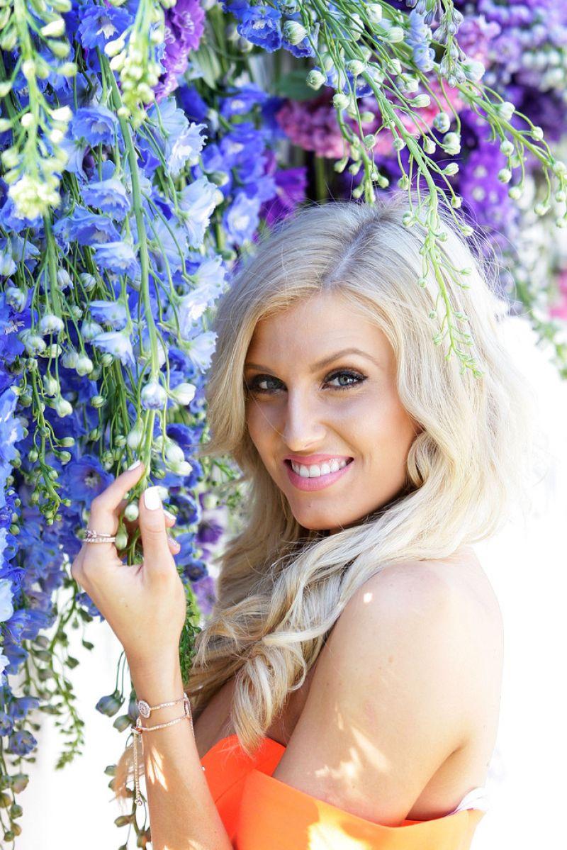 Erin Holland Swarovski Garden Party Collection Launch in Sydney