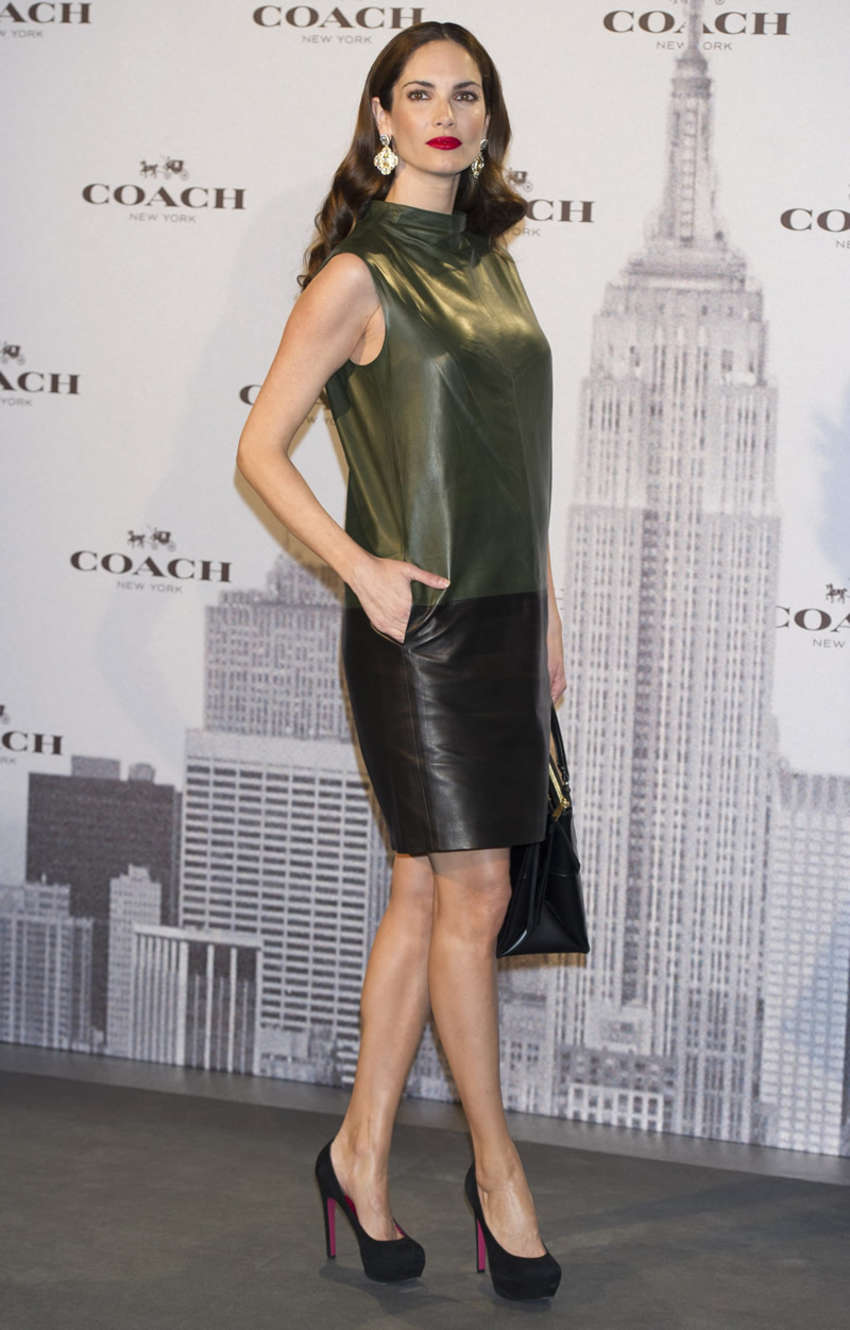 Eugenia Silva Coach Boutique Opening in Madrid