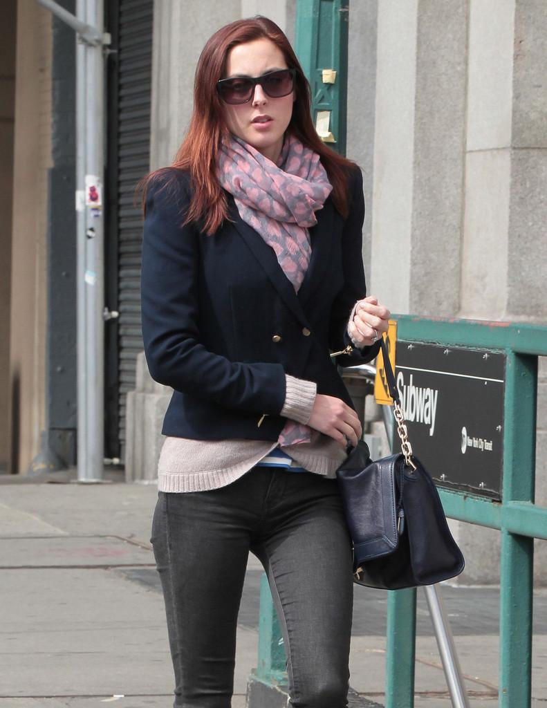 Eva Amurri Tight Jeans Candids In New York