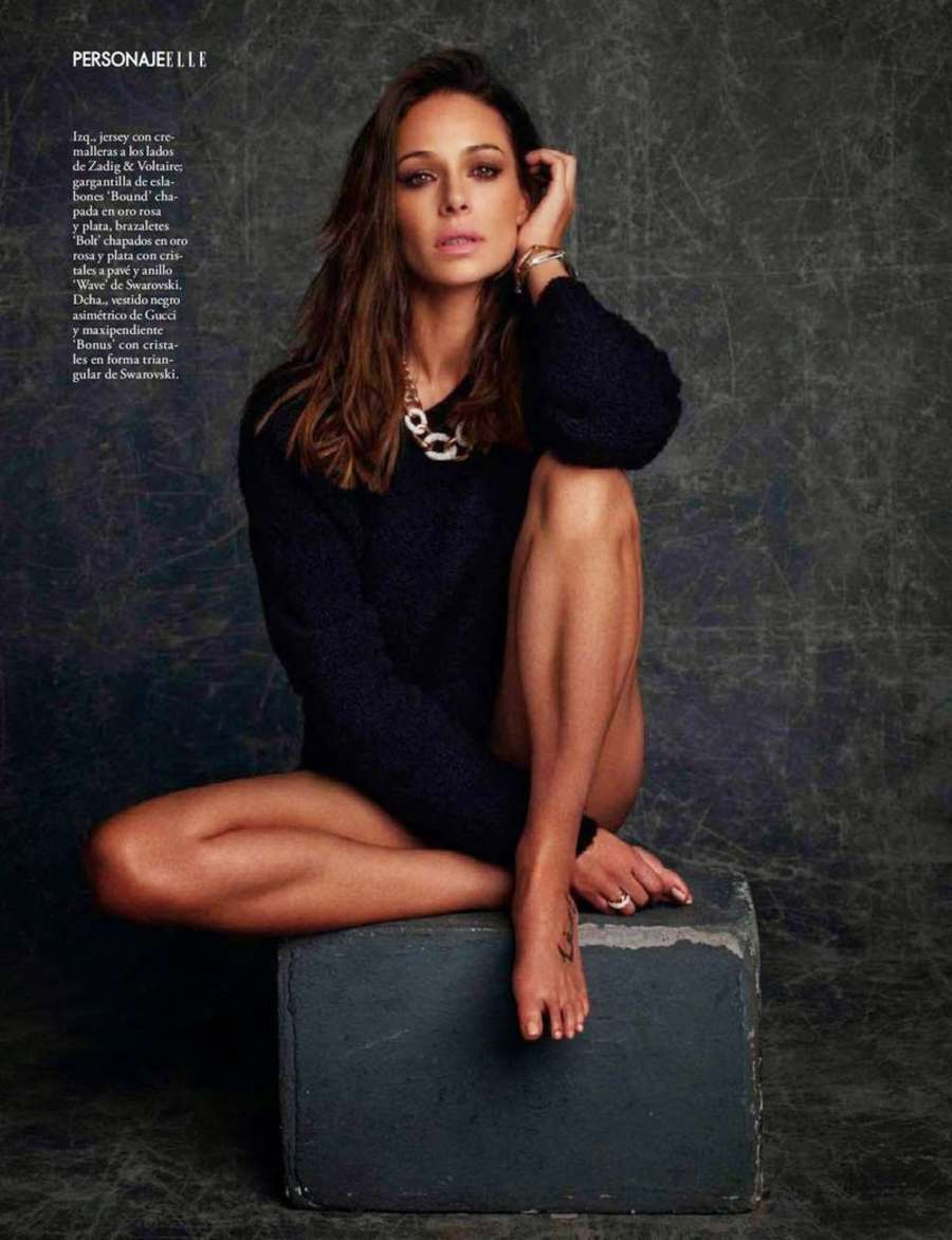 Eva Gonzalez Elle Magazine