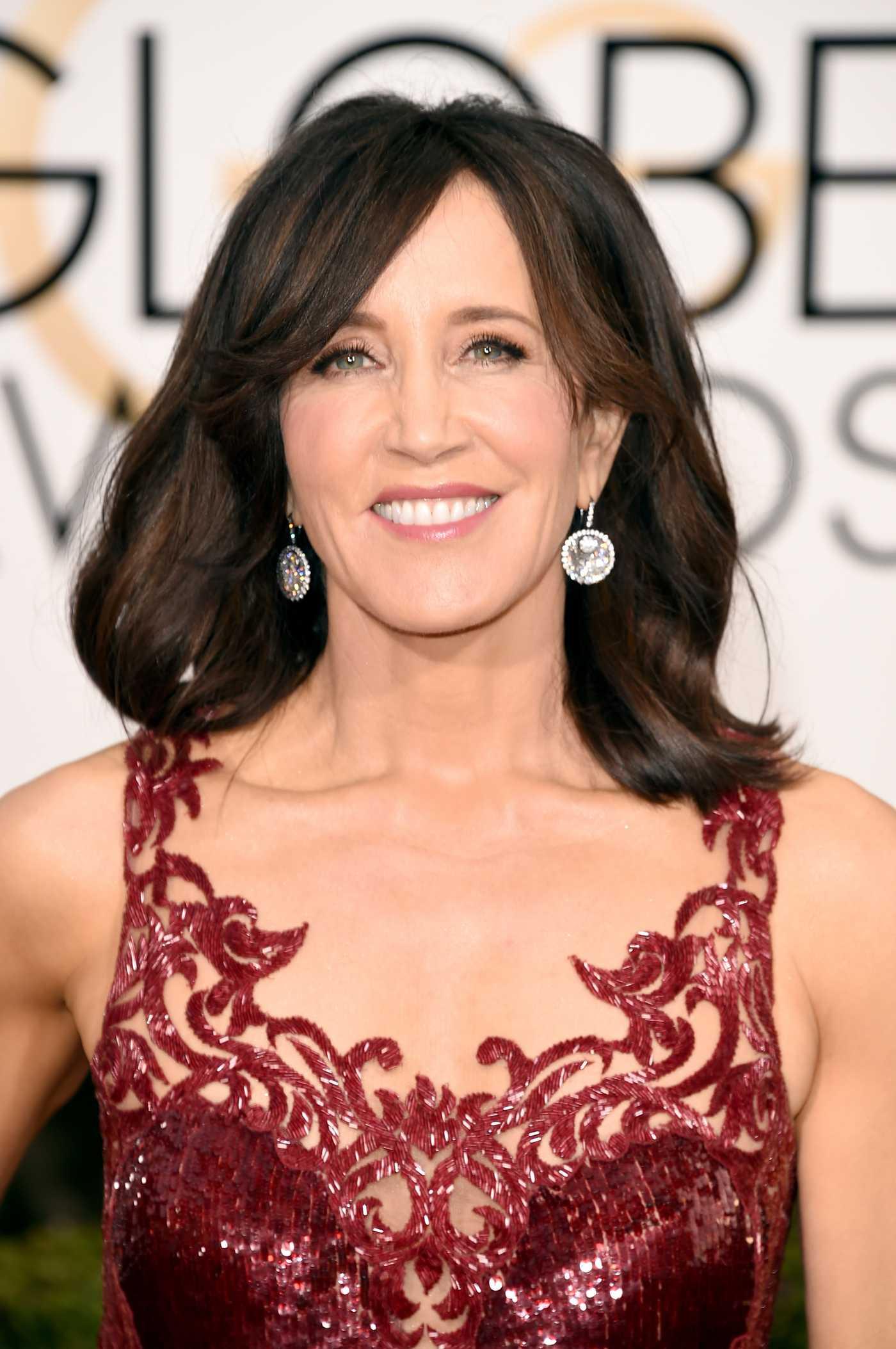 Felicity Huffman Golden Globe Awards in Beverly Hills