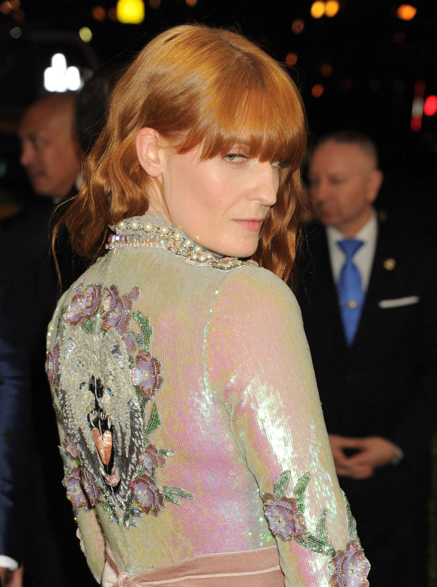 Florence Welch Met Gala in New York