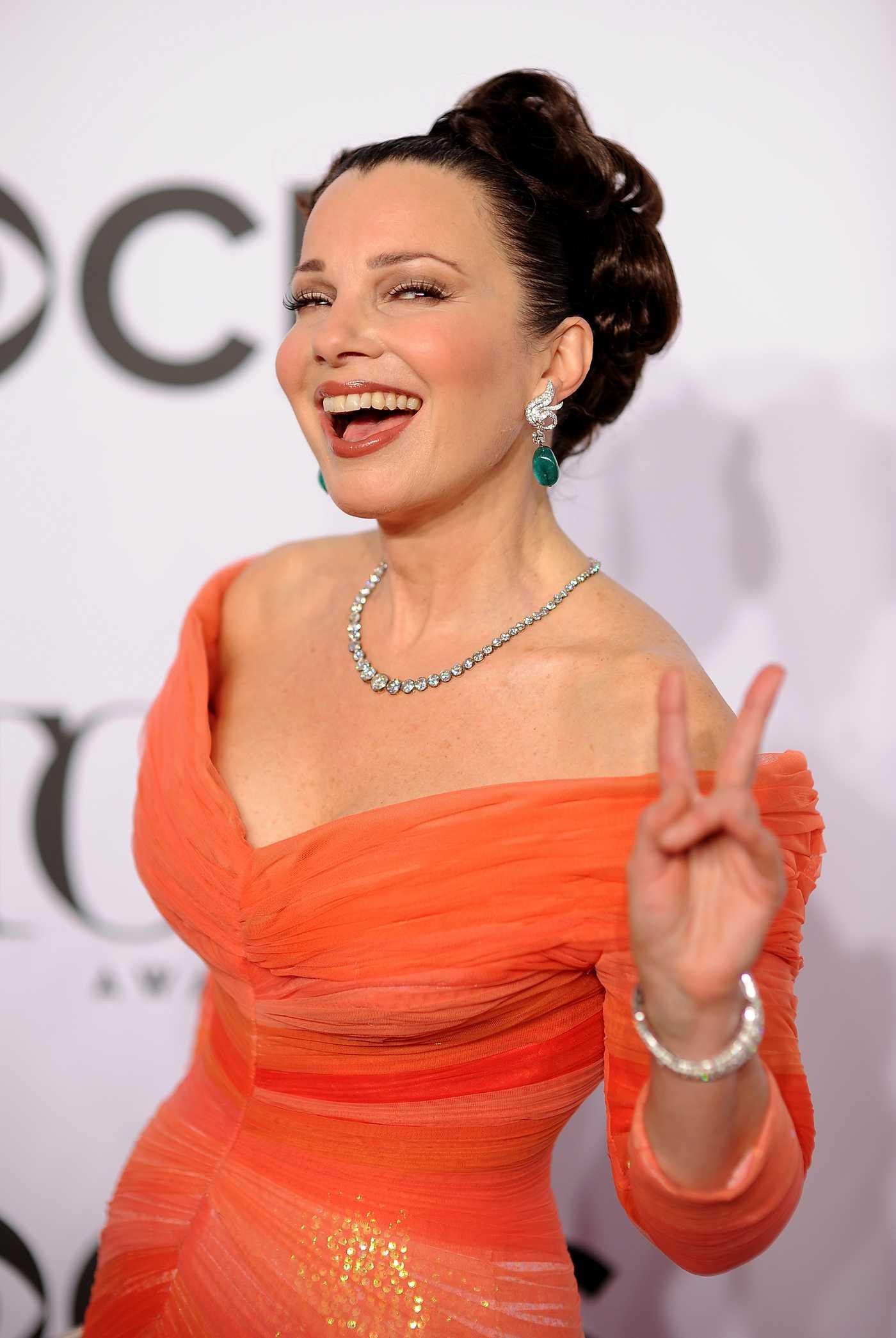 Fran Drescher Annual Tony Awards in New York