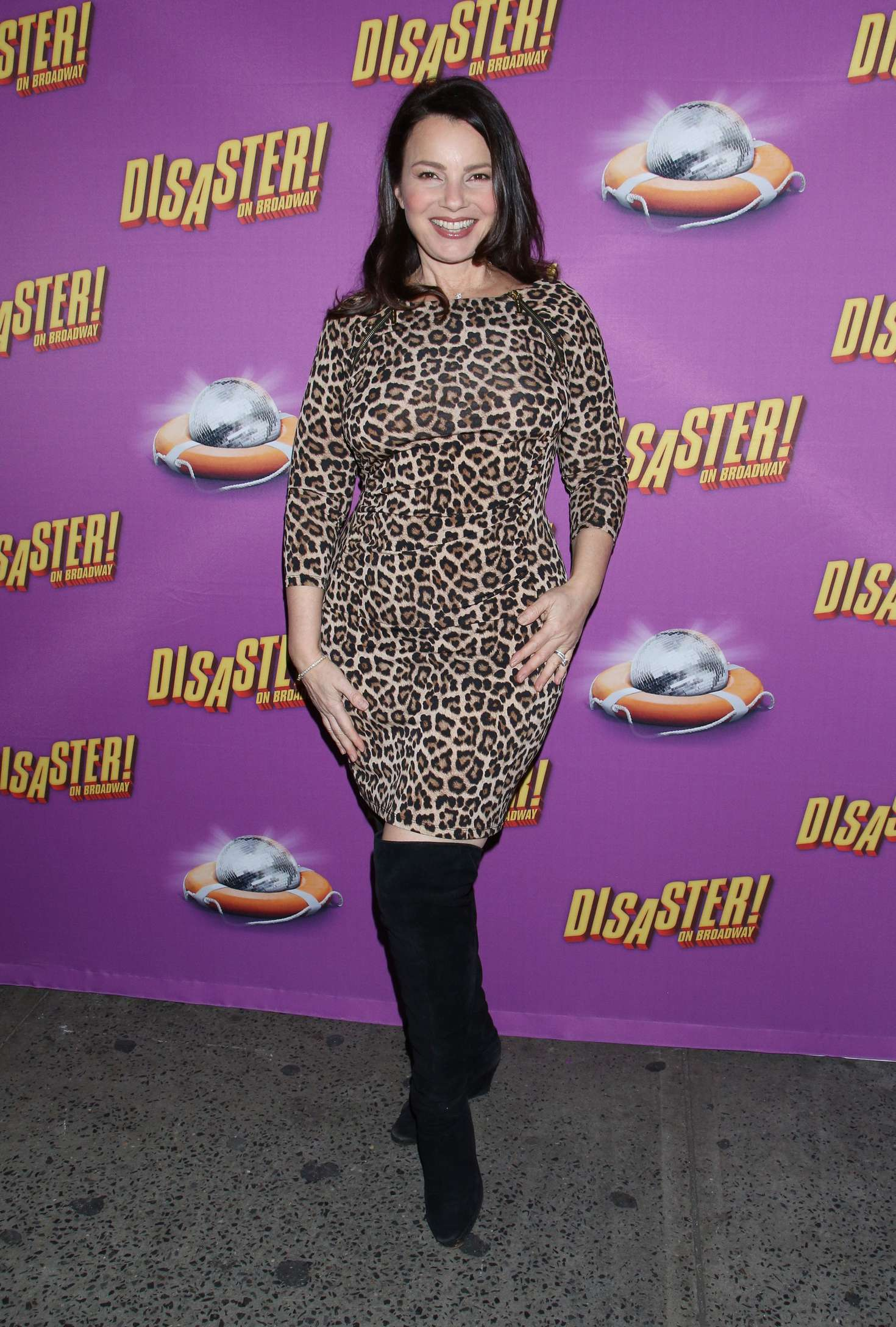 Fran Drescher Disaster Broadway Opening Night in New York