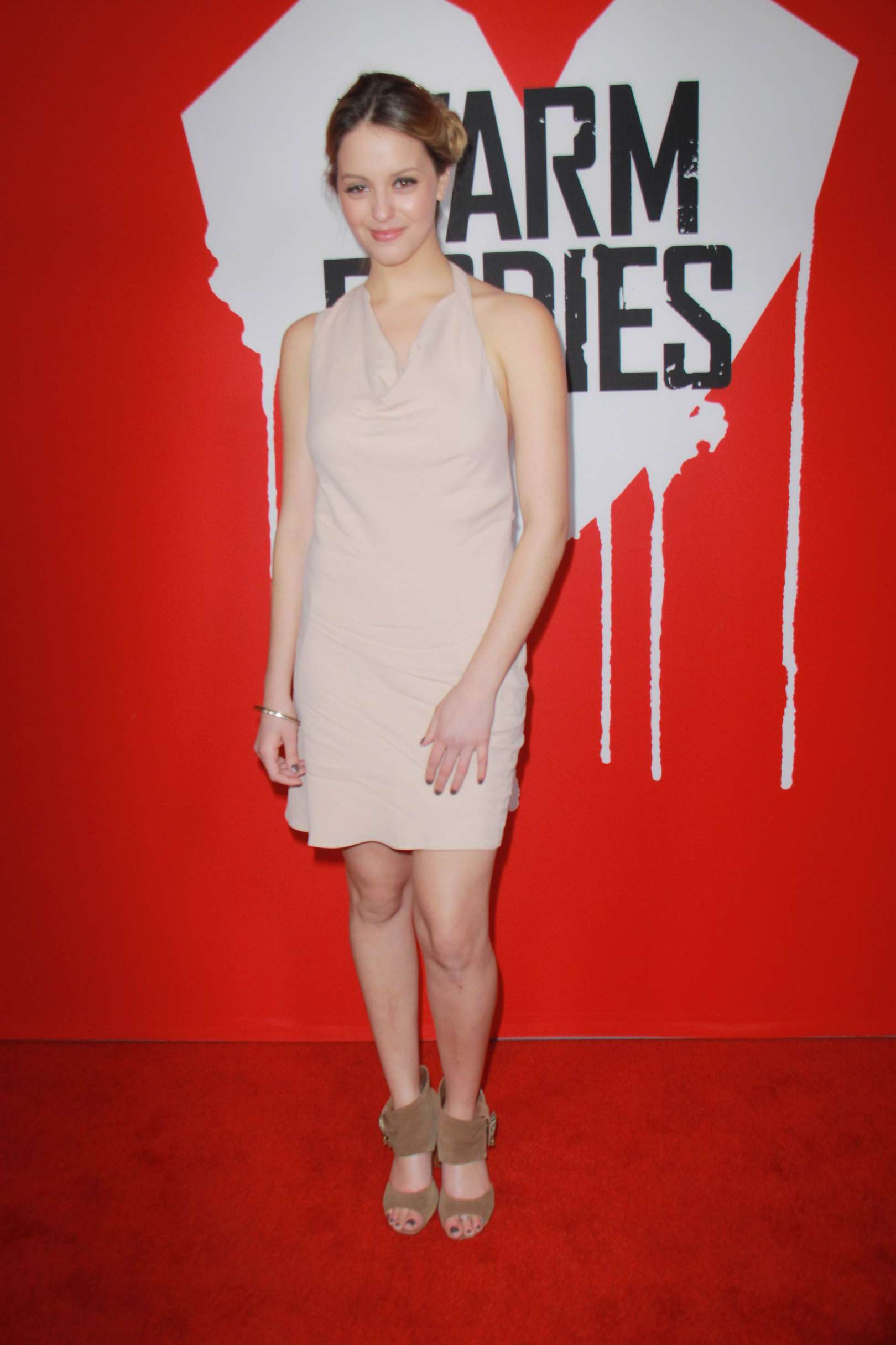 Gage Golightly at Warm Bodies Premiere