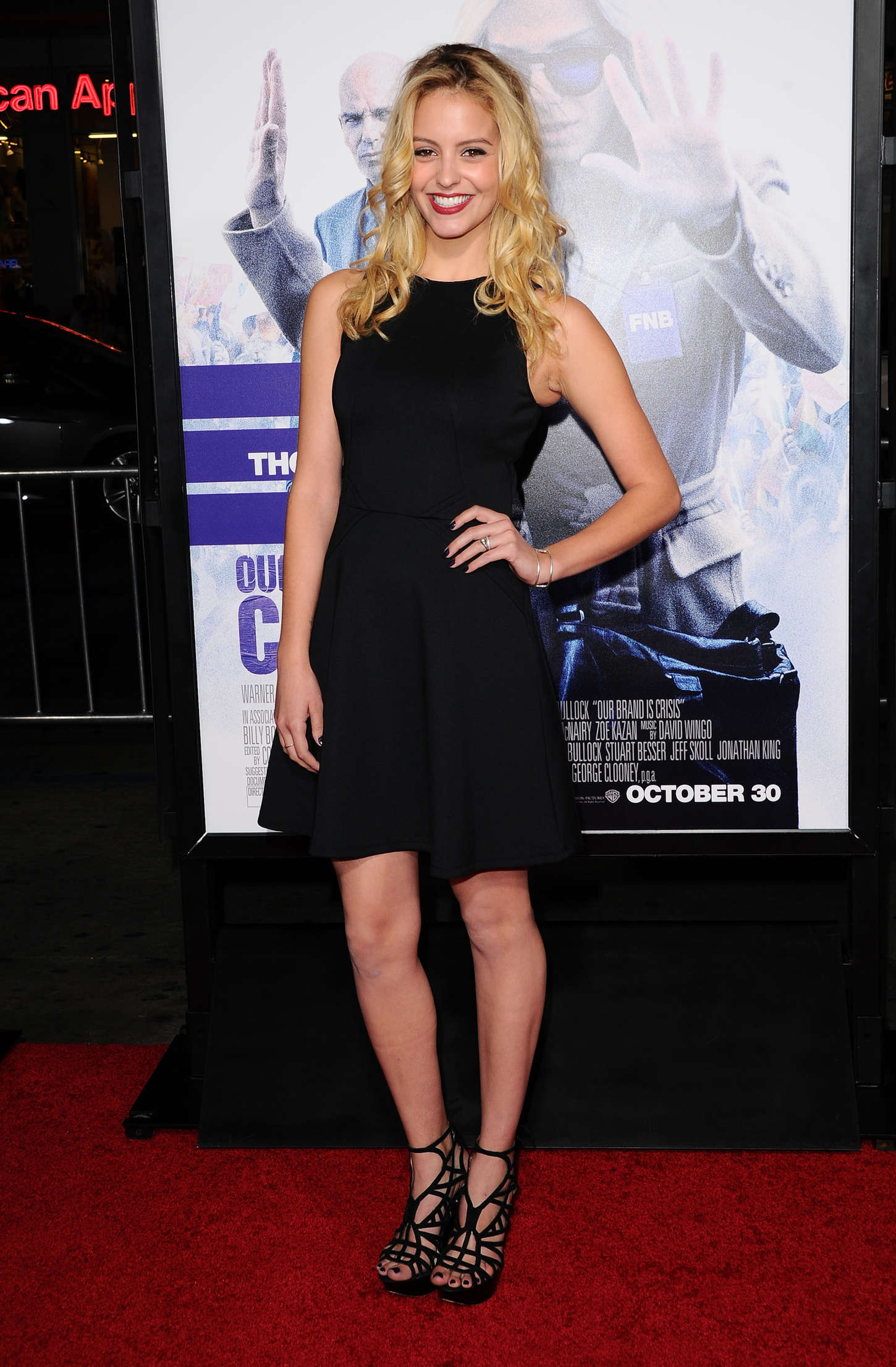 Gage Golightly Our Brand Is Crisis Premiere in Hollywood
