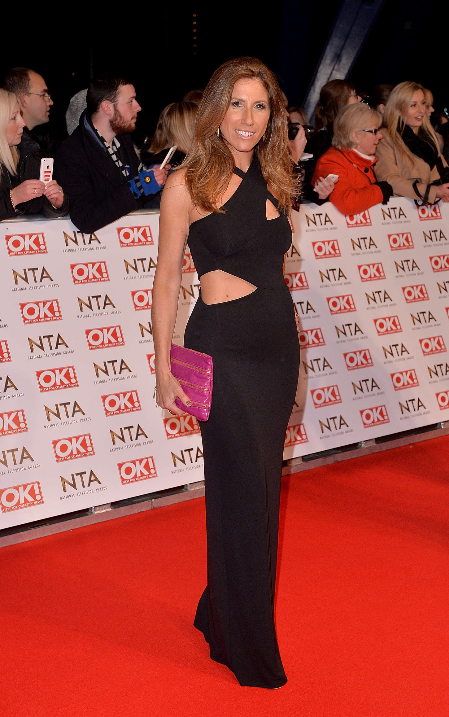 Gaynor Faye National Television Awards in London