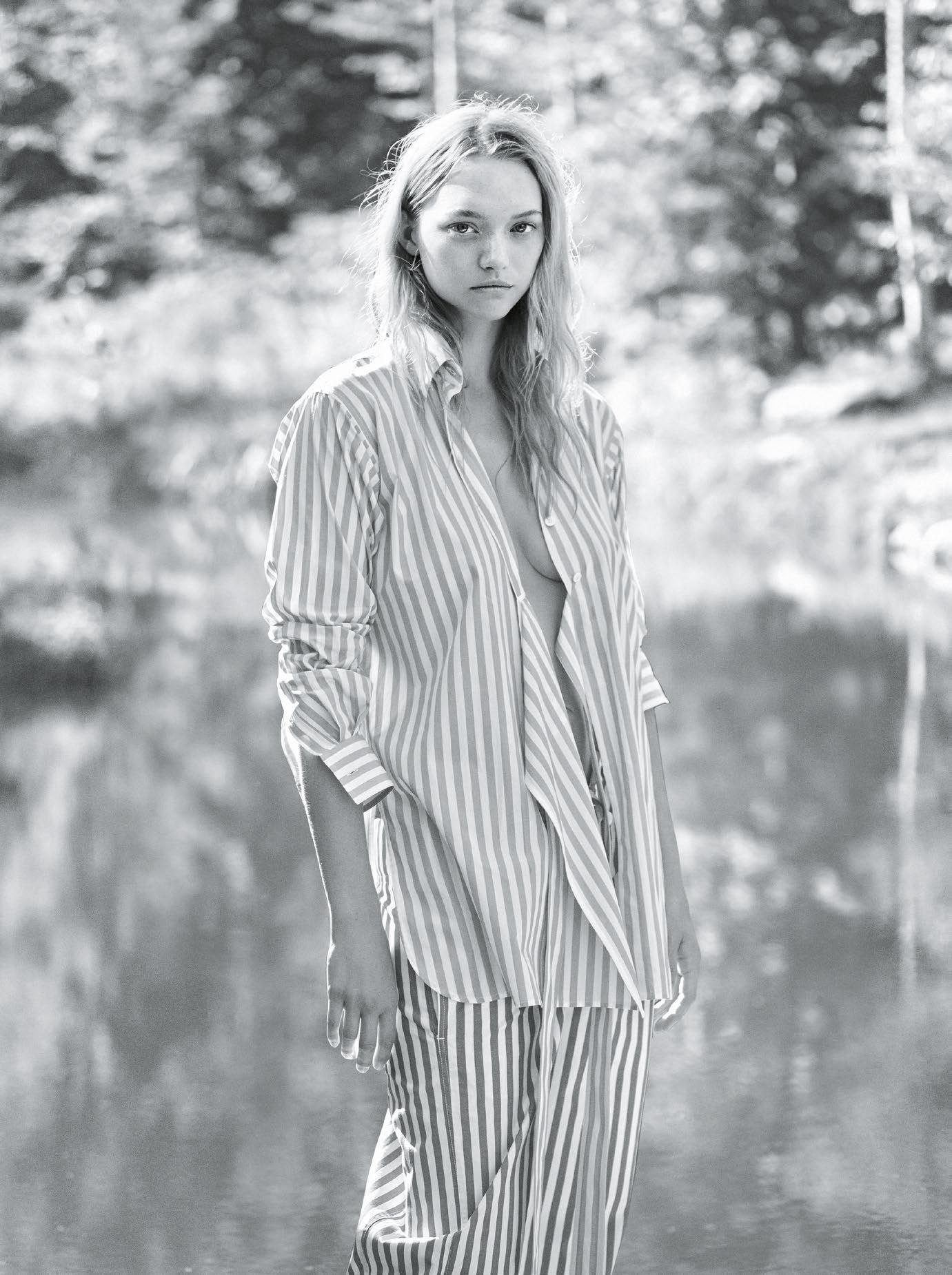 Gemma Ward Vogue Australia Magazine
