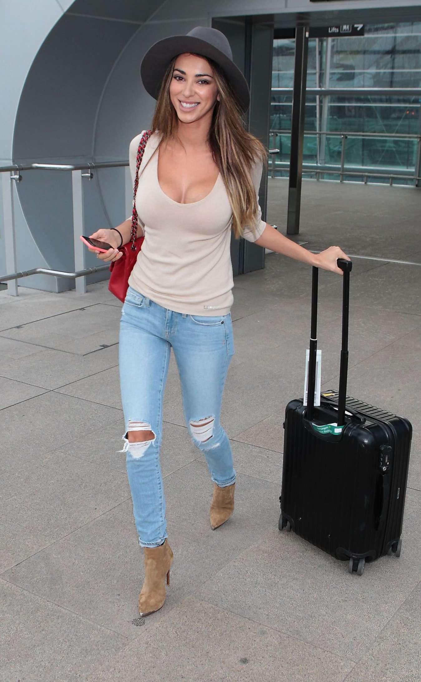 Georgia Salpa at Airport in Dublin