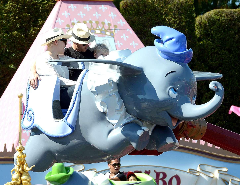 Ginnifer Goodwin Disneyland in Anaheim