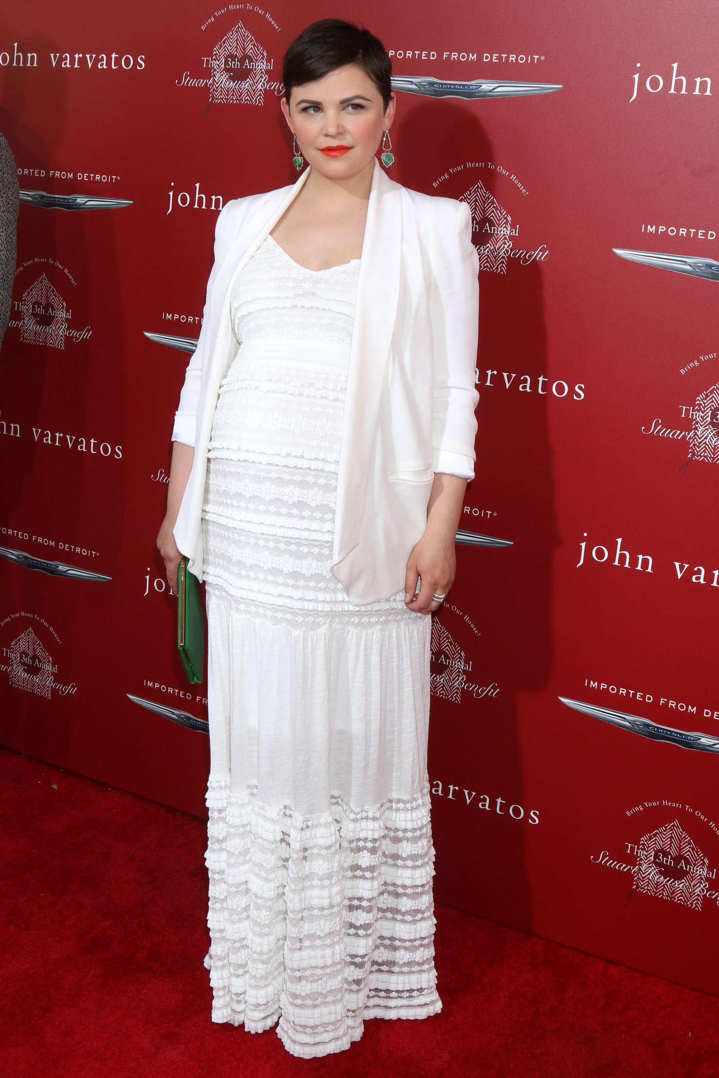 Ginnifer Goodwin John Varvatos Annual Stuart House Benefit in Los Angeles
