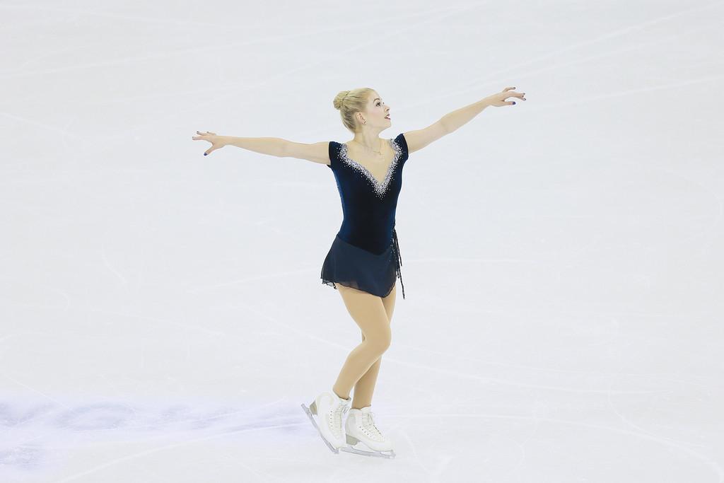 Gracie Gold ISU World Figure Skating Championships in Shanghai