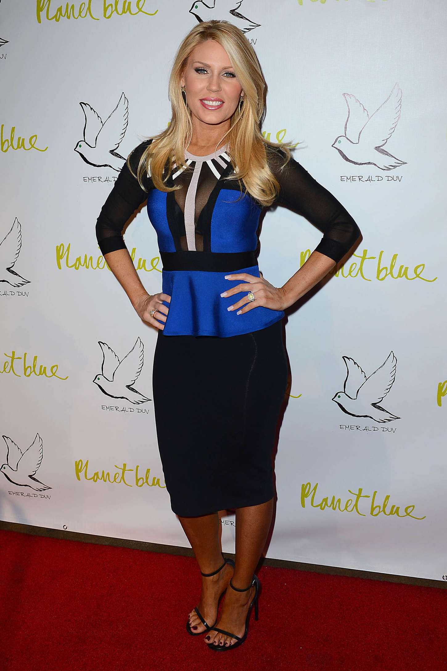 Gretchen Rossi Emerald Duv New Jewellery Line Launch in Beverly Hills