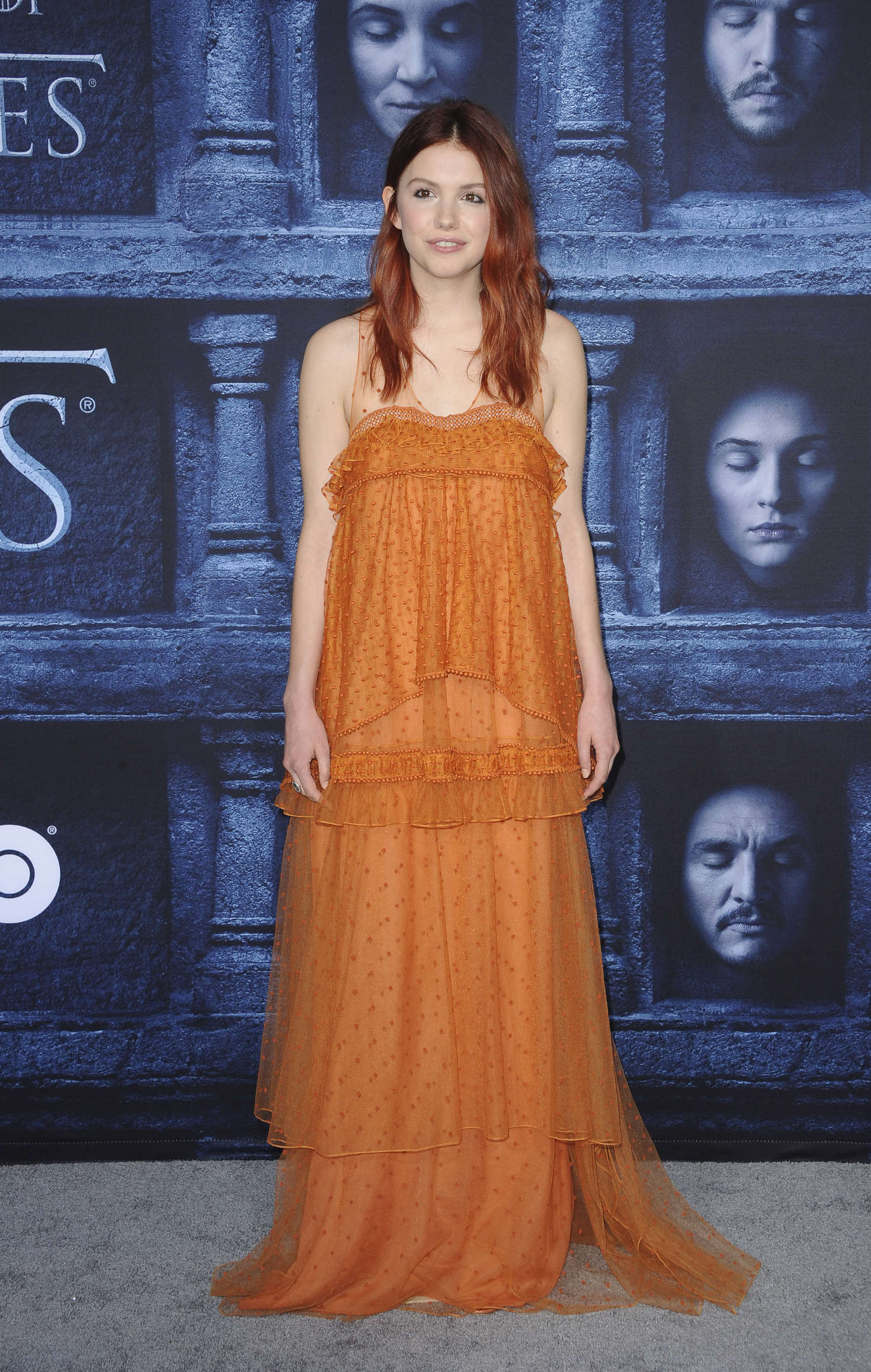 Hannah Murray Game of Thrones Season Premiere in Hollywood
