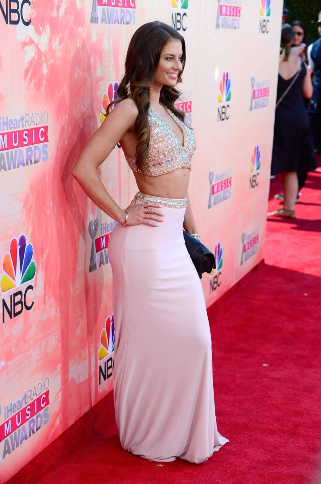Hannah Stocking iHeartRadio Music Awards in Los Angeles