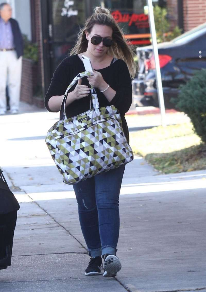Haylie Duff in Jeans out in West Hollywood