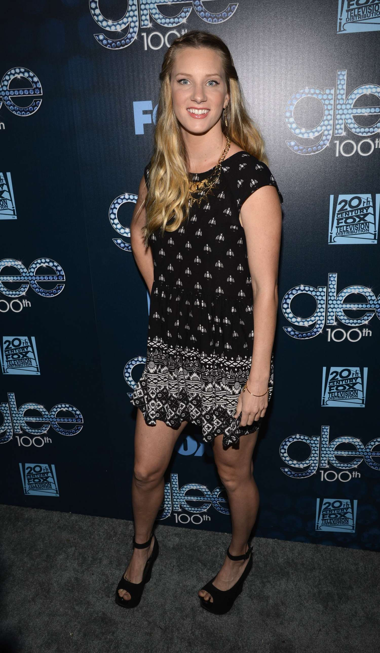 Heather Morris Glee Episode Celebration in Los Angeles