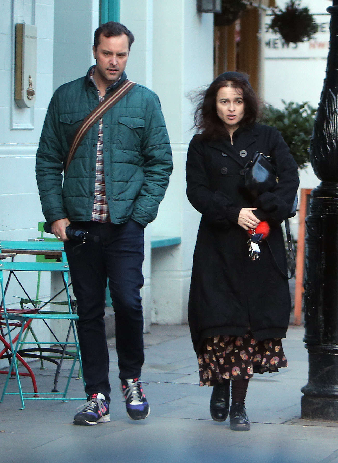Helena Bonham Carter go out in North London