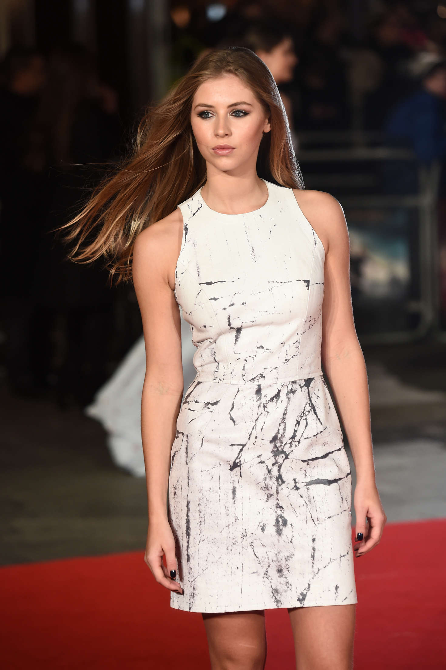 Hermione Corfield Pride and Prejudice and Zombies Premiere in London