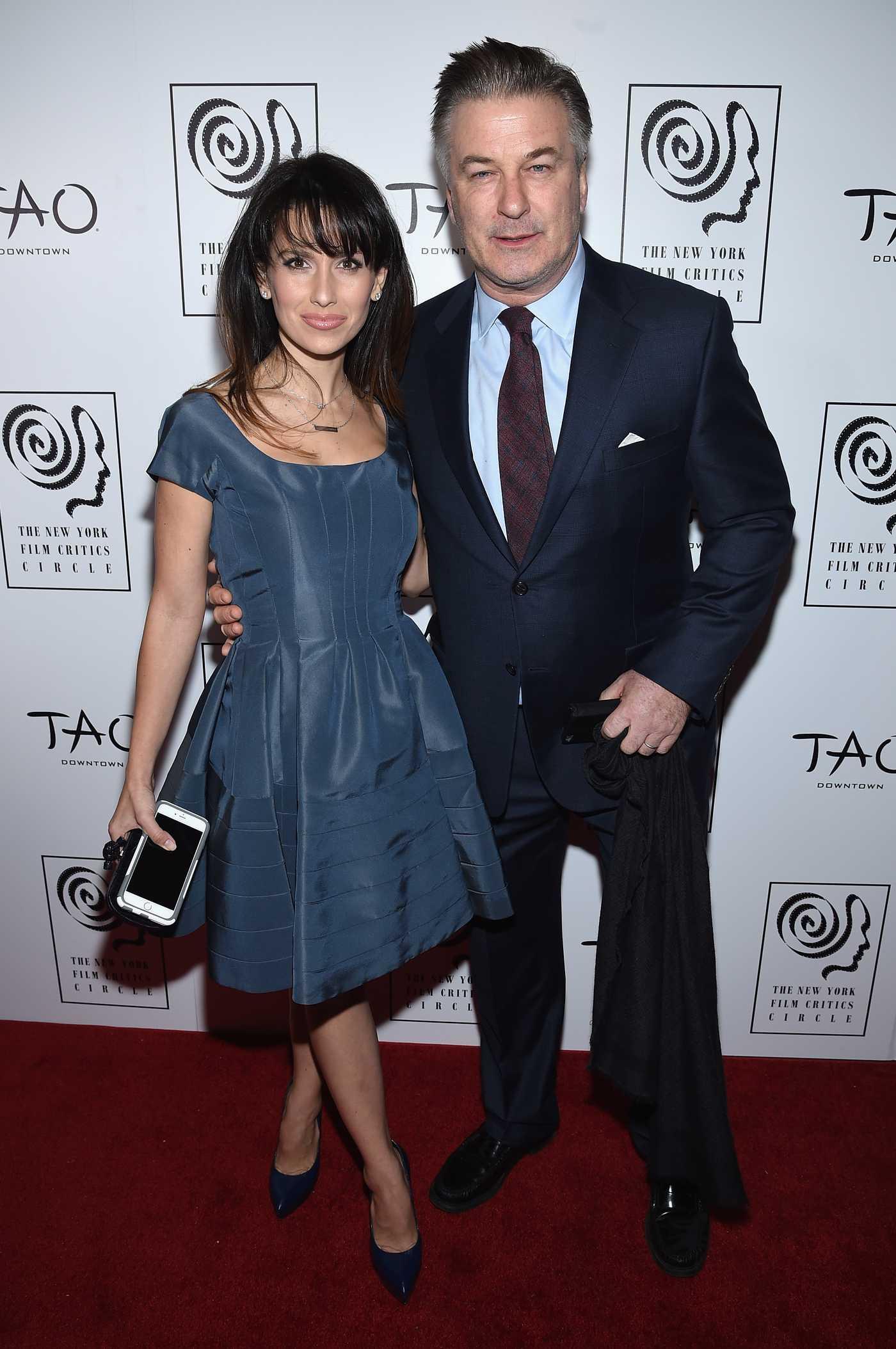 Hilaria Baldwin New York Film Critics Circle Awards in New York