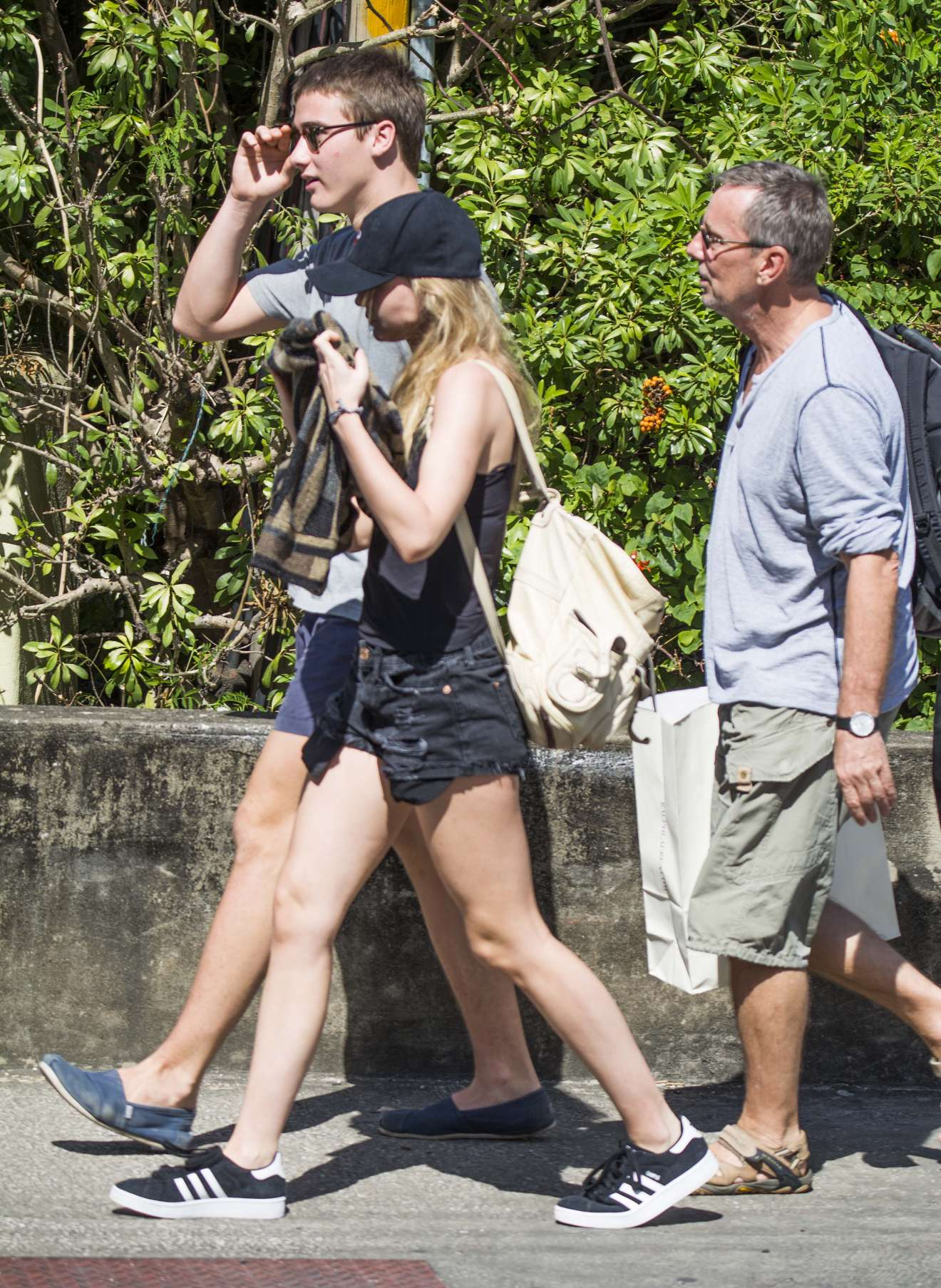 Immy Waterhouse Seen out in Barbados