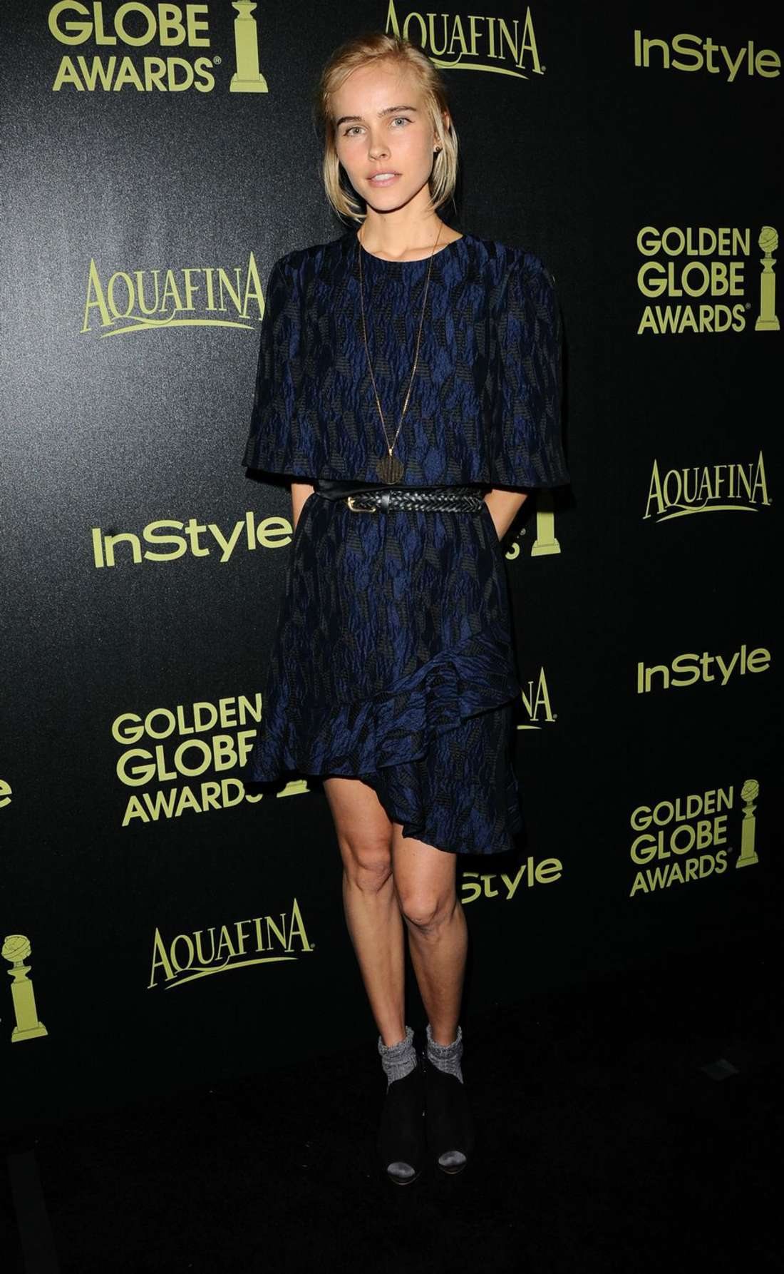 Isabel Lucas HFPA InStyle Celebrate Golden Globe Award Season in West Hollywood