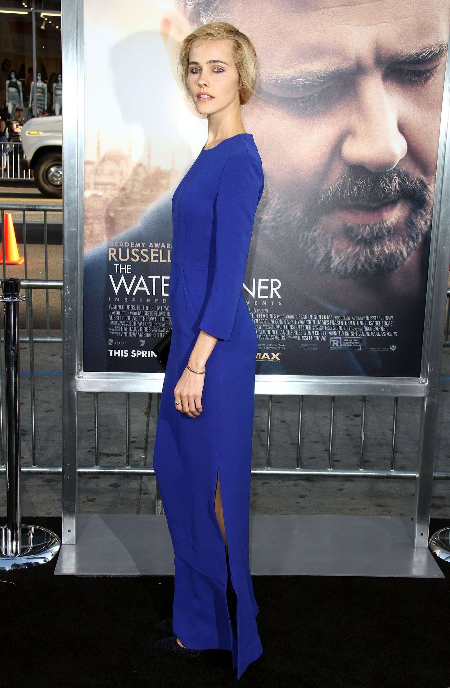 Isabel Lucas The Water Diviner Premiere in Hollywood