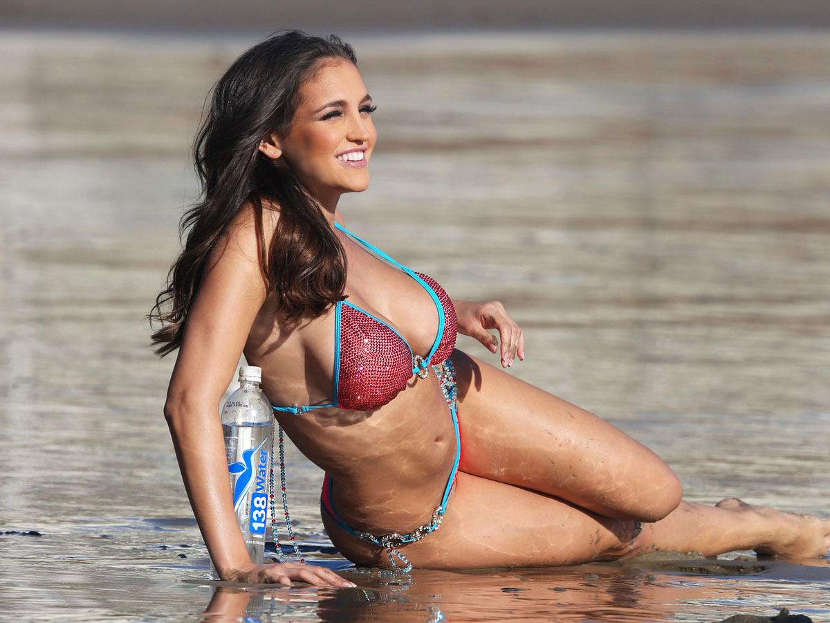 Jaclyn Swedberg Water Bikini Photoshoot in Malibu