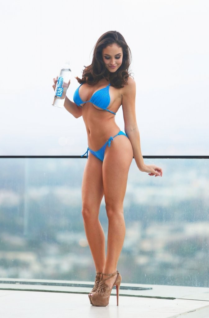 Jaclyn Swedberg Water Bikini Photoshoot in Universal City