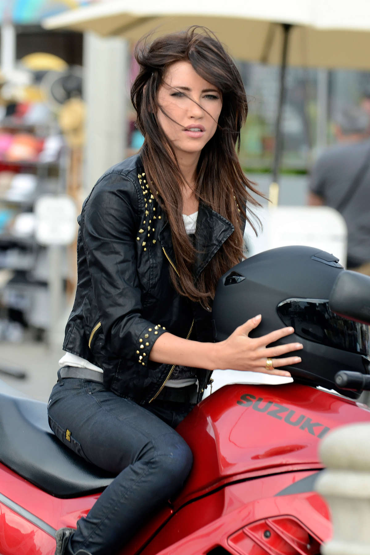 Jacqueline MacInnes Wood On the set of The Bold And The Beautiful