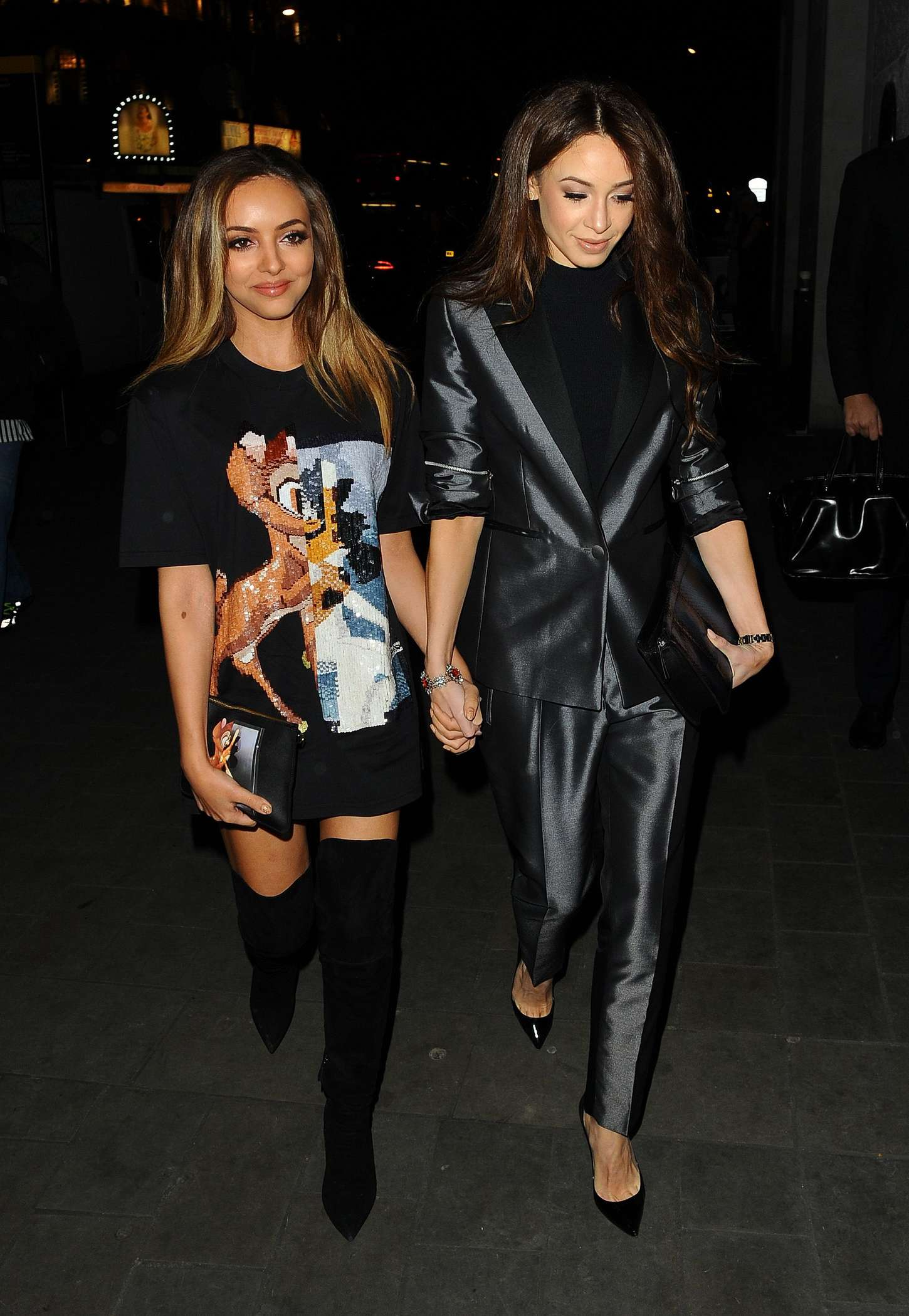 Jade Thirlwall ME Hotel for PPQ Runway Show in London