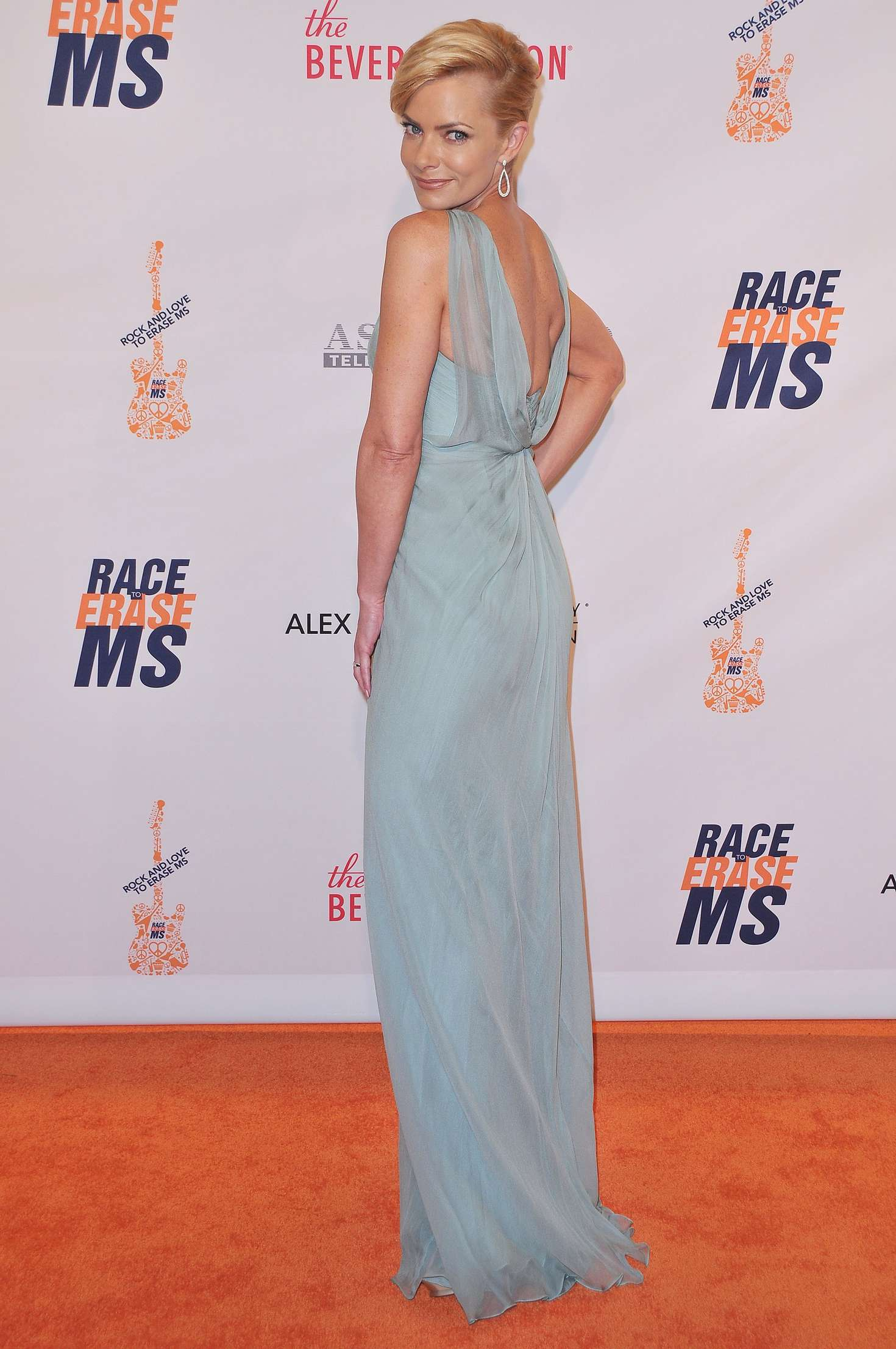 Jaime Pressly Annual Race To Erase MS Gala in Beverly Hills
