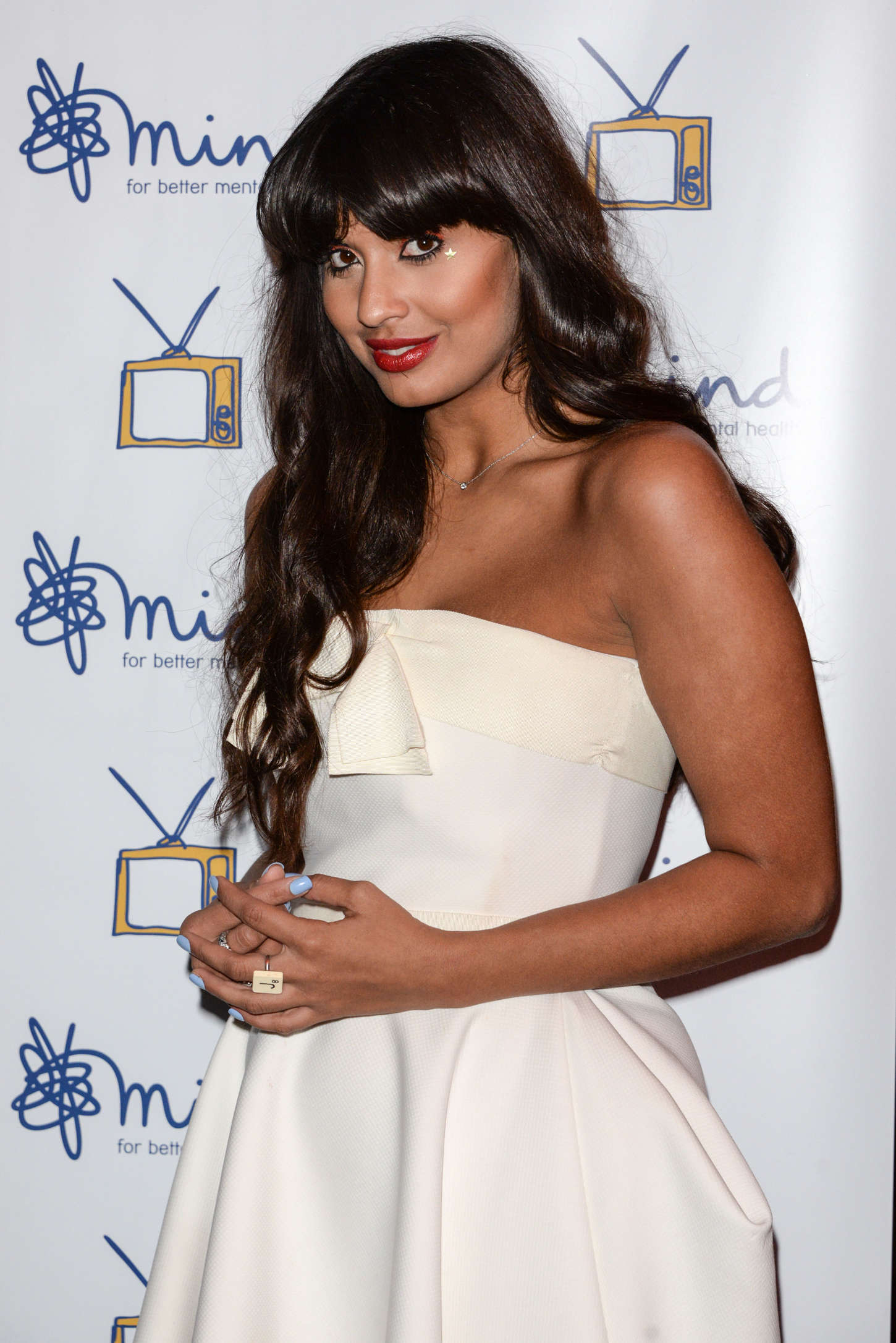 Jameela Jamil Mind Media Awards in London