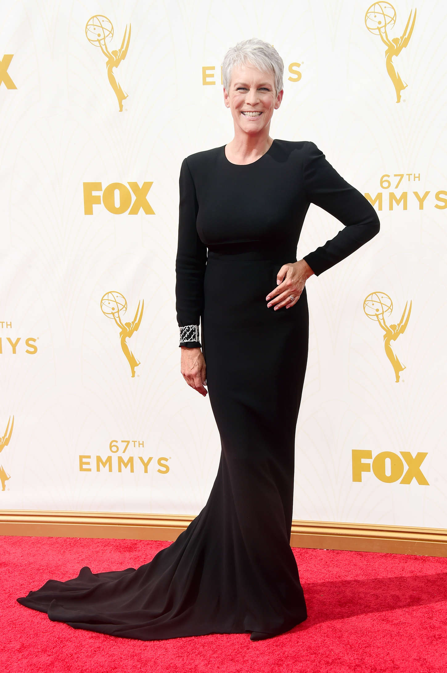 Jamie Lee Curtis The Primetime Emmy Awards in Los Angeles