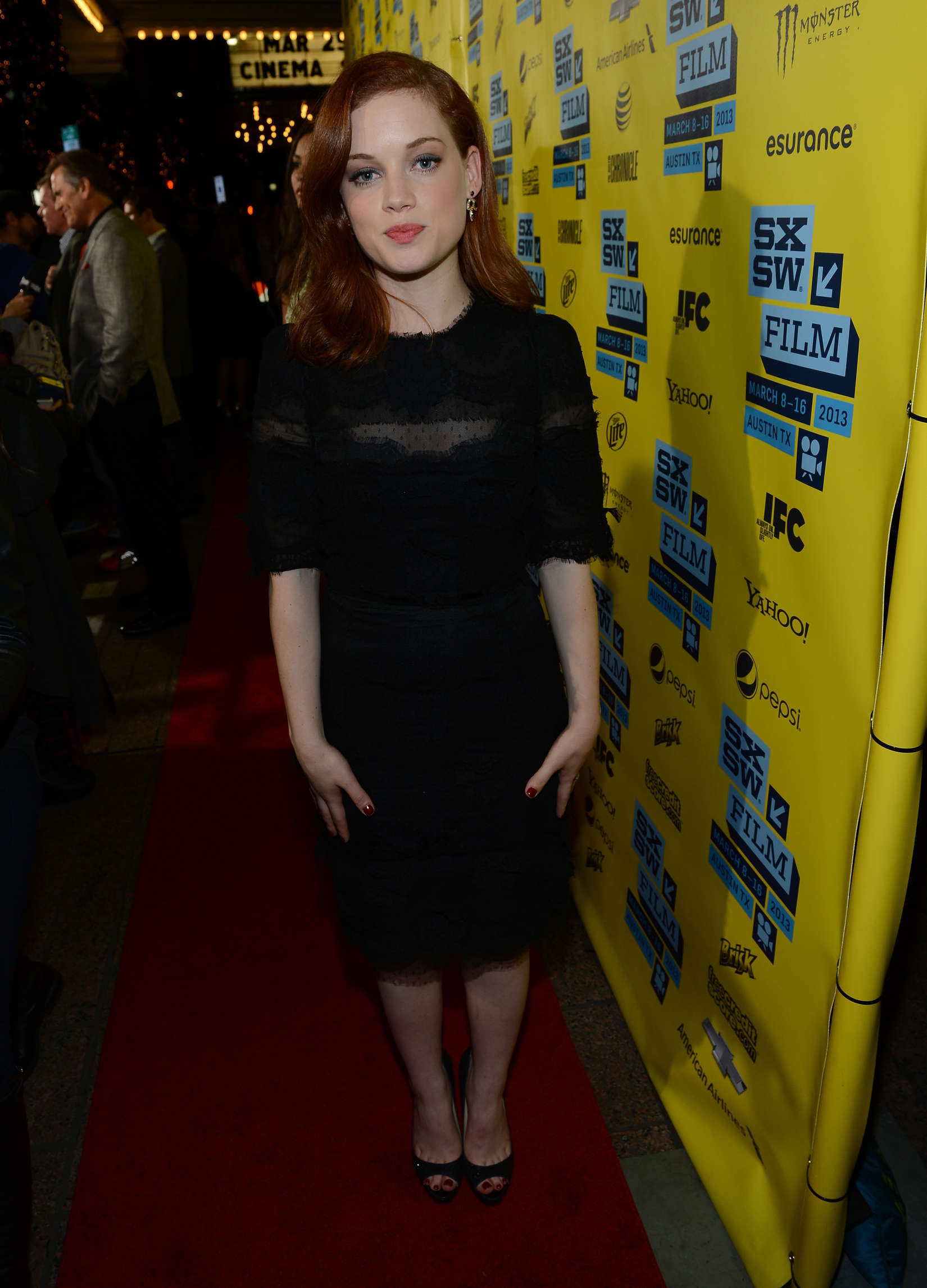 Jane Levy at SXSW Evil Dead screening in Austin