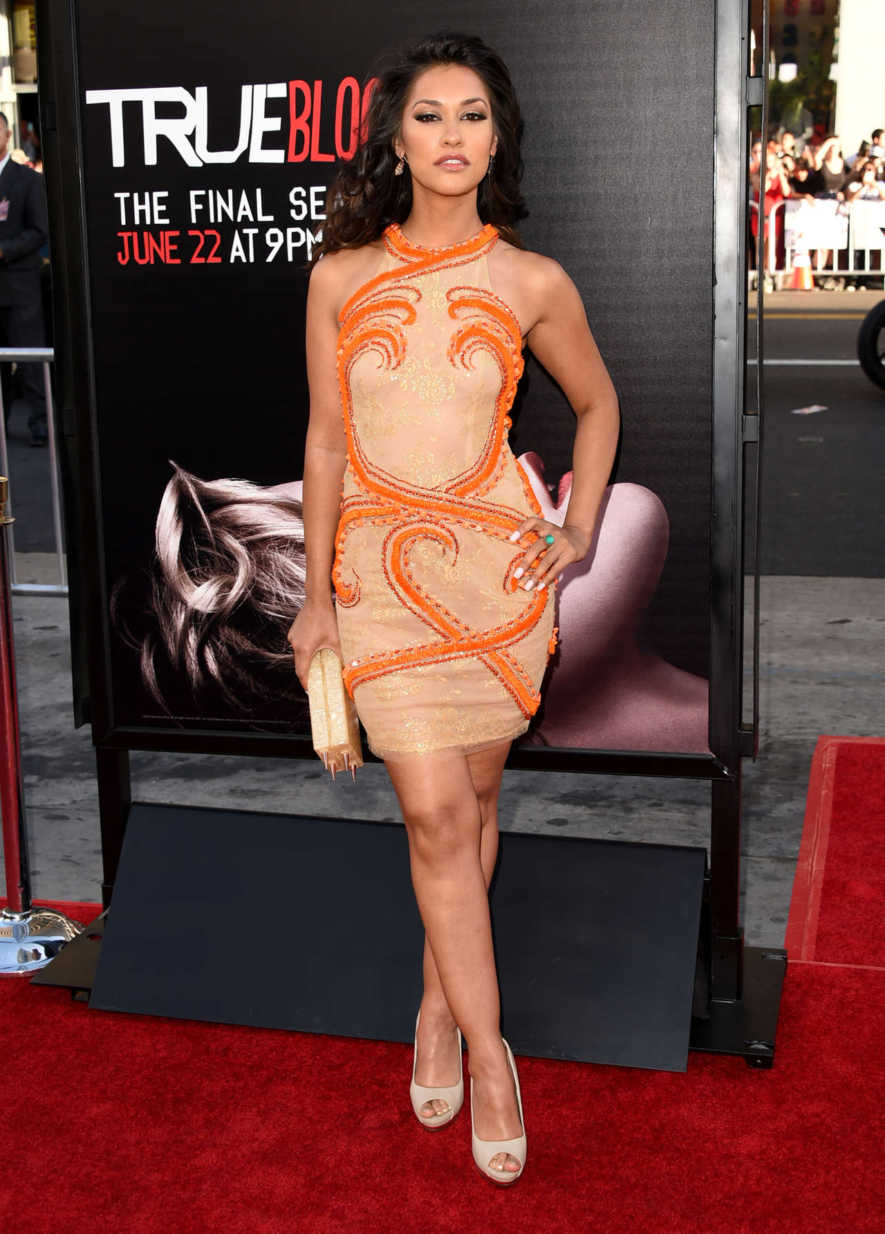 Janina Gavankar True Blood Season premiere in Hollywood