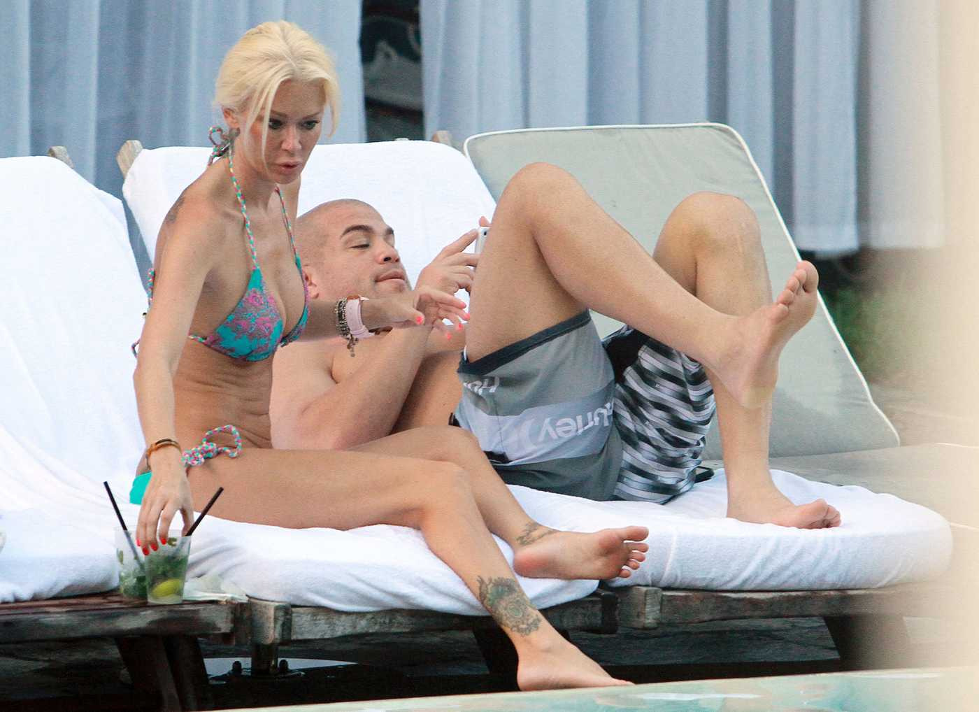Jenna Jameson Bikini Candids Poolside In Miami Aug
