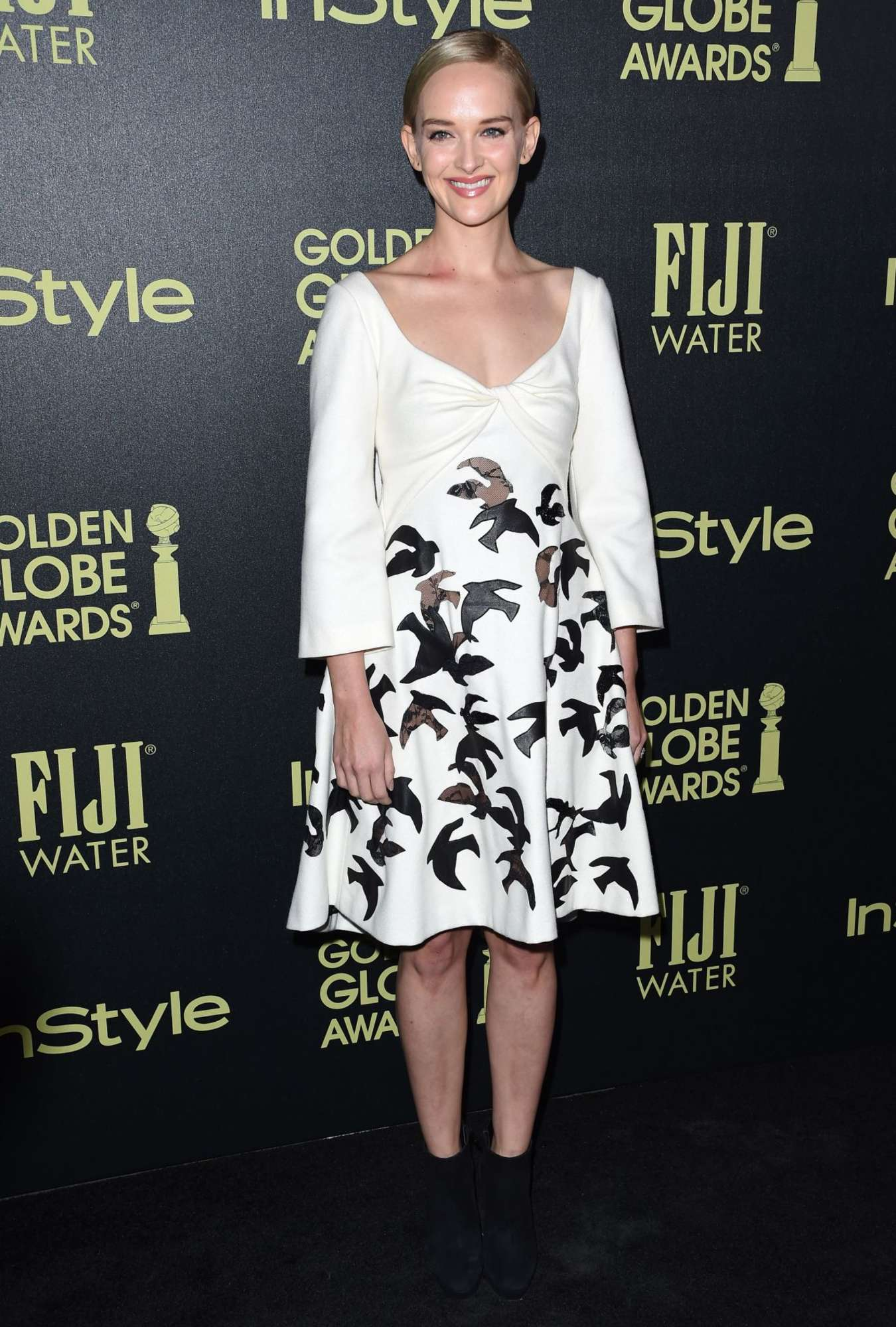 Jess Weixler HFPA And InStyle Celebrate The Golden Globe Award Season in West Hollywood