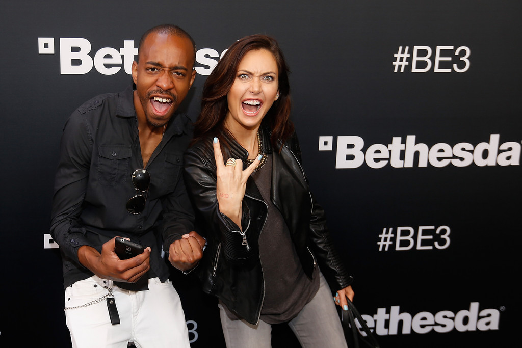 Jessica Chobot Bethesda E3 Press Conference in Los Angeles