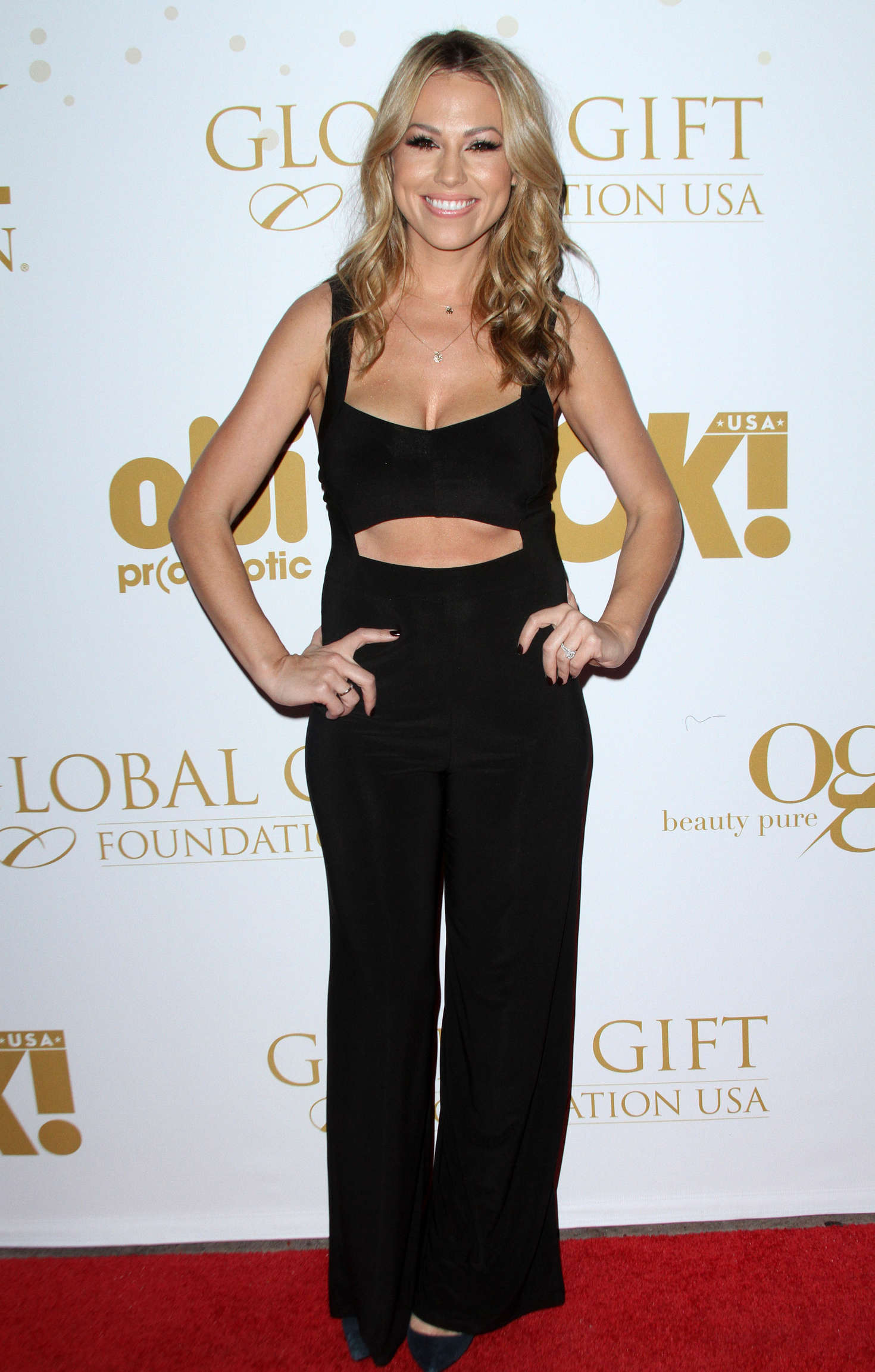 Jessica Hall OK! Magazines Pre-Oscar Party in Los Angeles