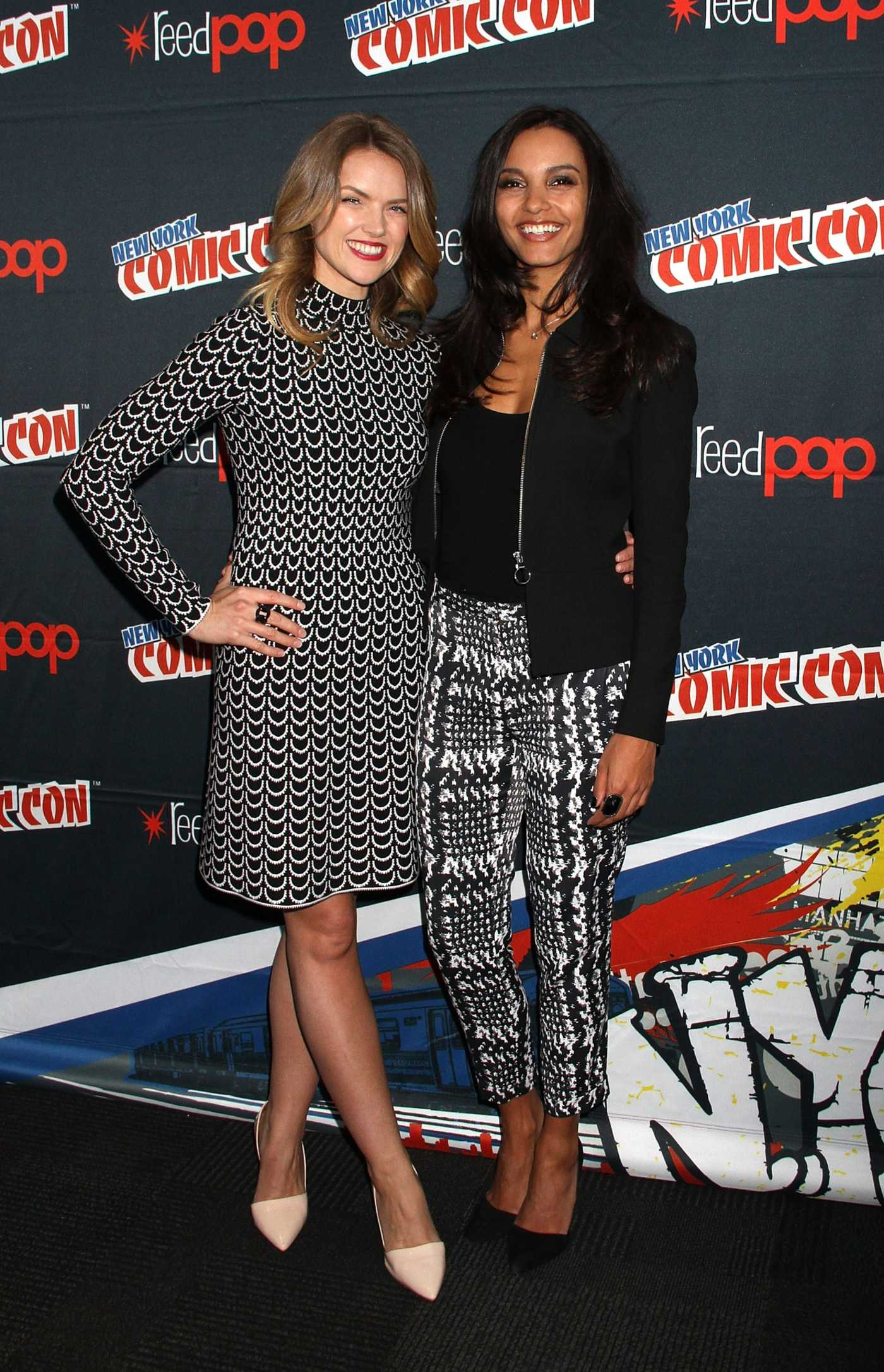 Jessica Lucas New York Comic Con Day in New York