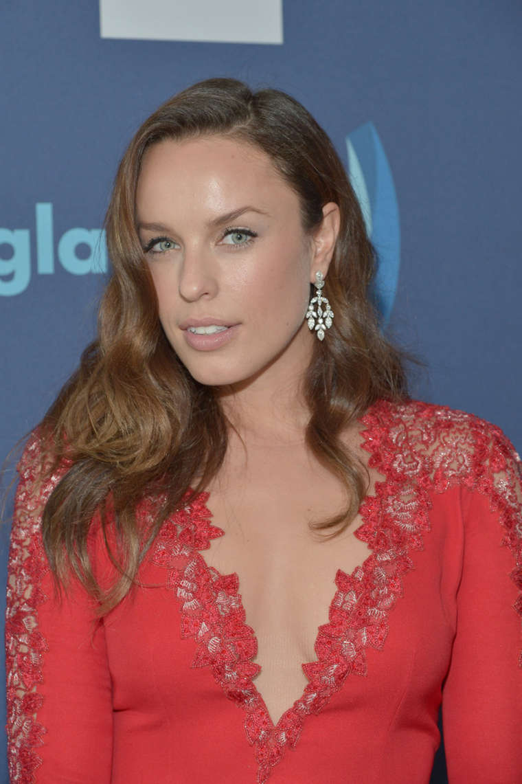 Jessica McNamee Annual GLAAD Media Awards in Beverly Hills