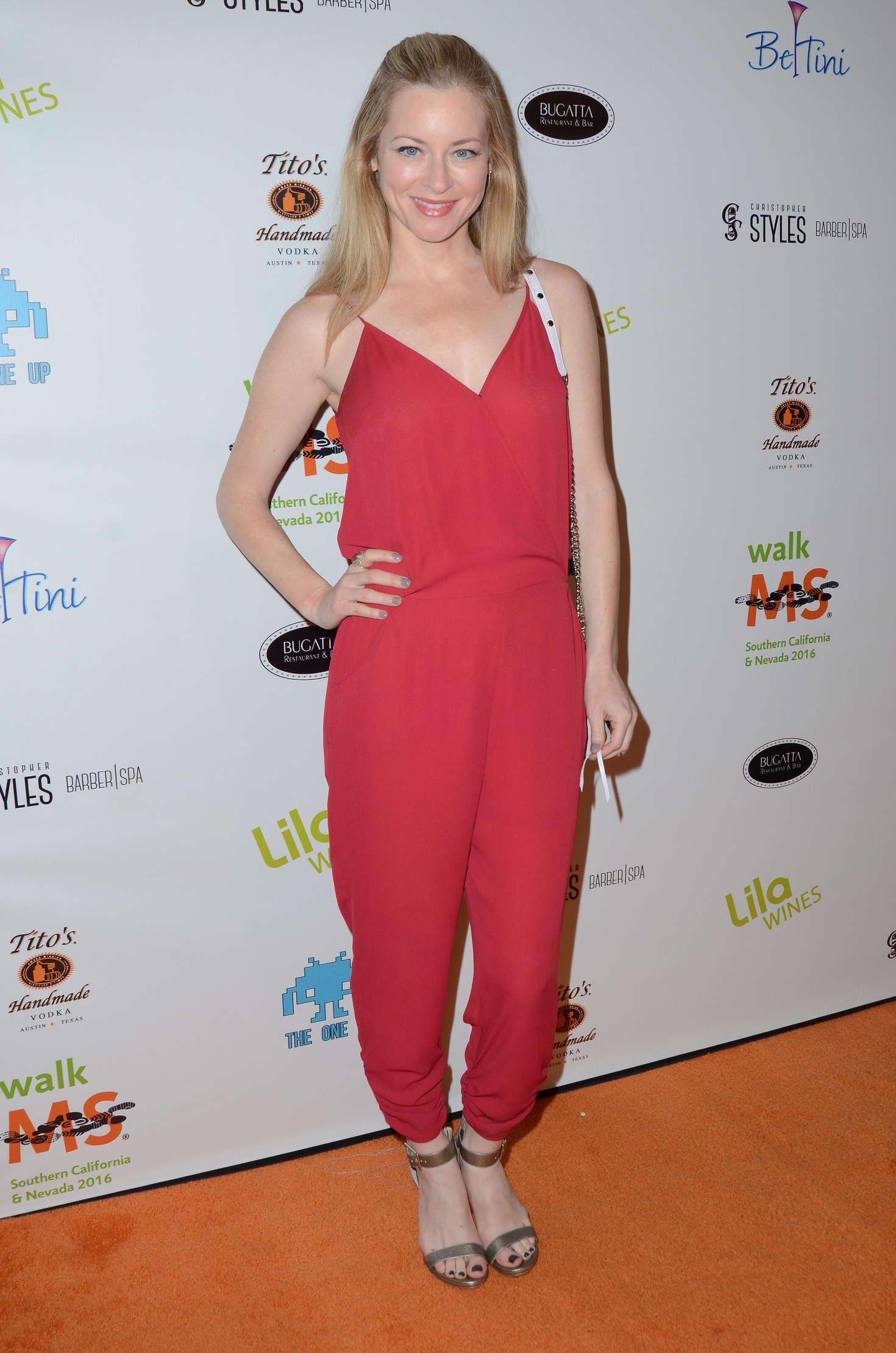 Jessica Morris Annual LAs Walk MS Celebrity Kickoff in Los Angeles