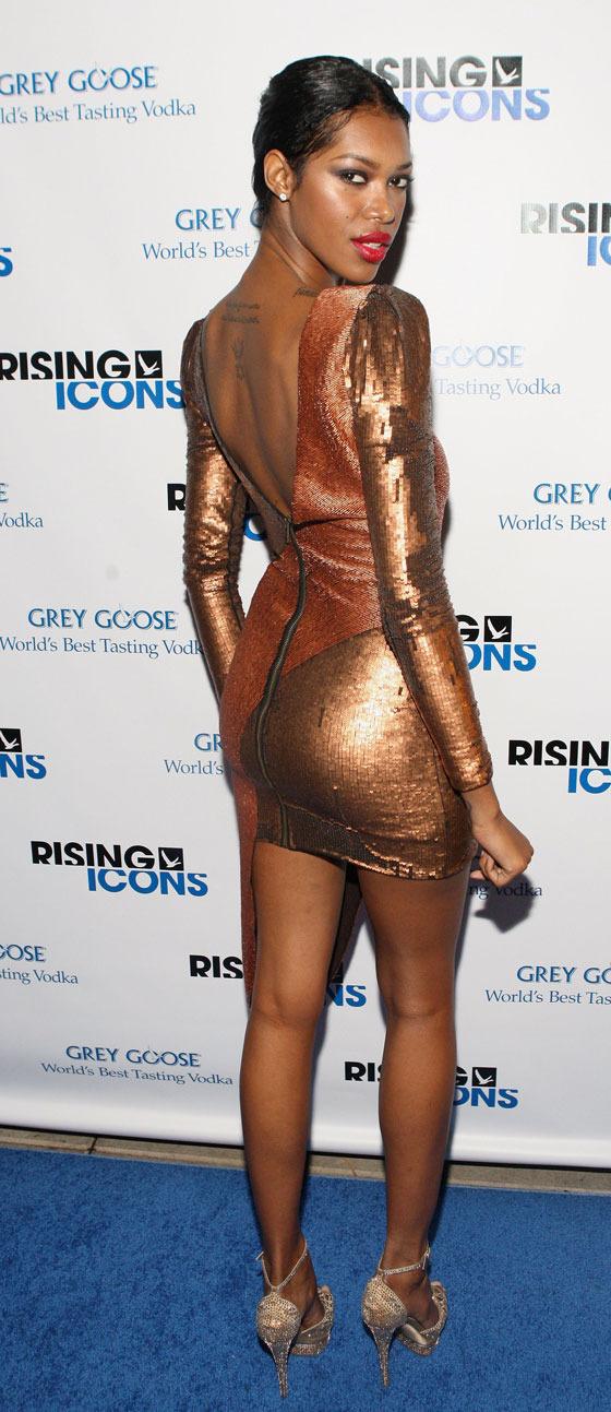 Jessica White at Rising Icons Awards